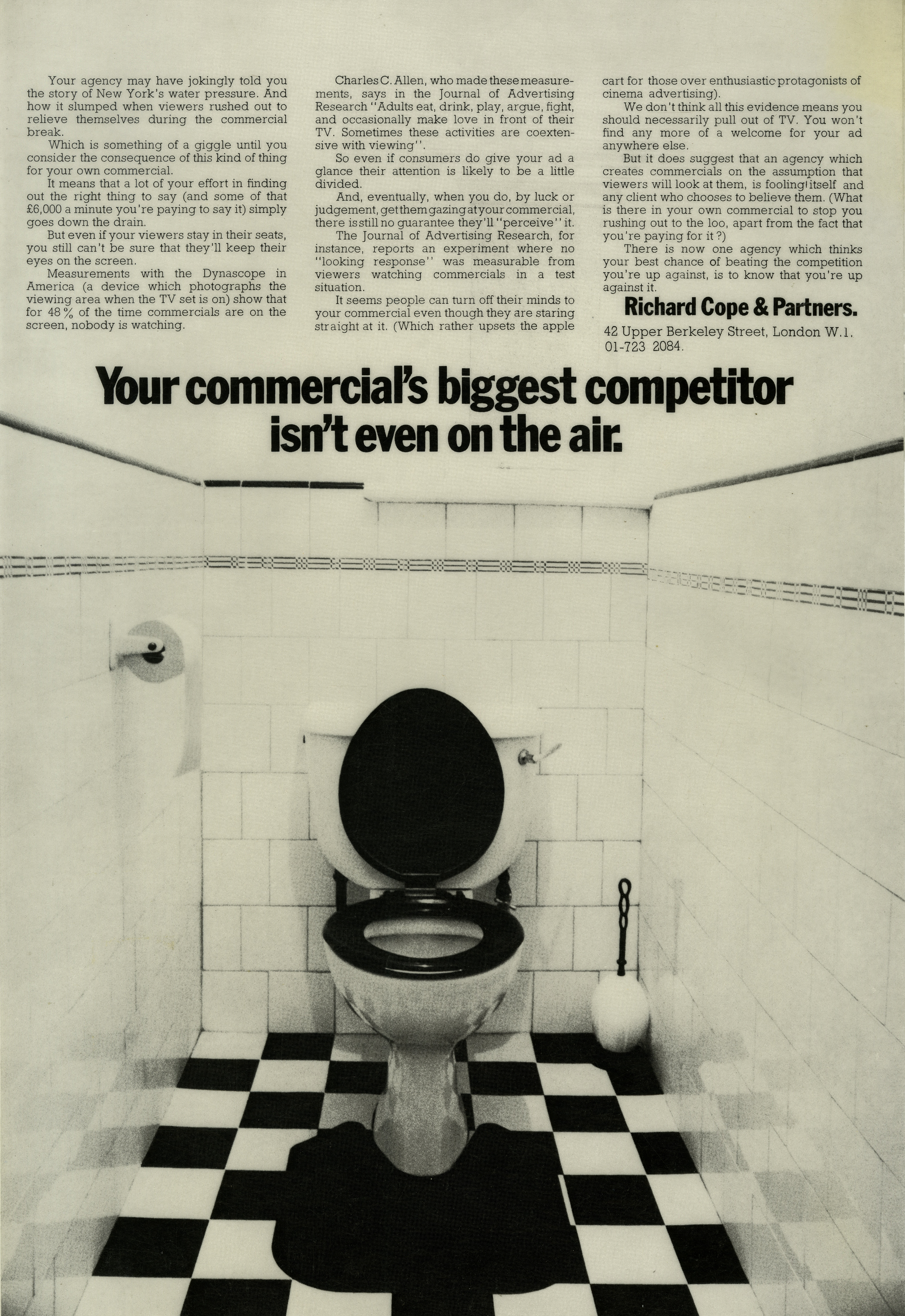 Max Forsythe, Richard Cope ad-01