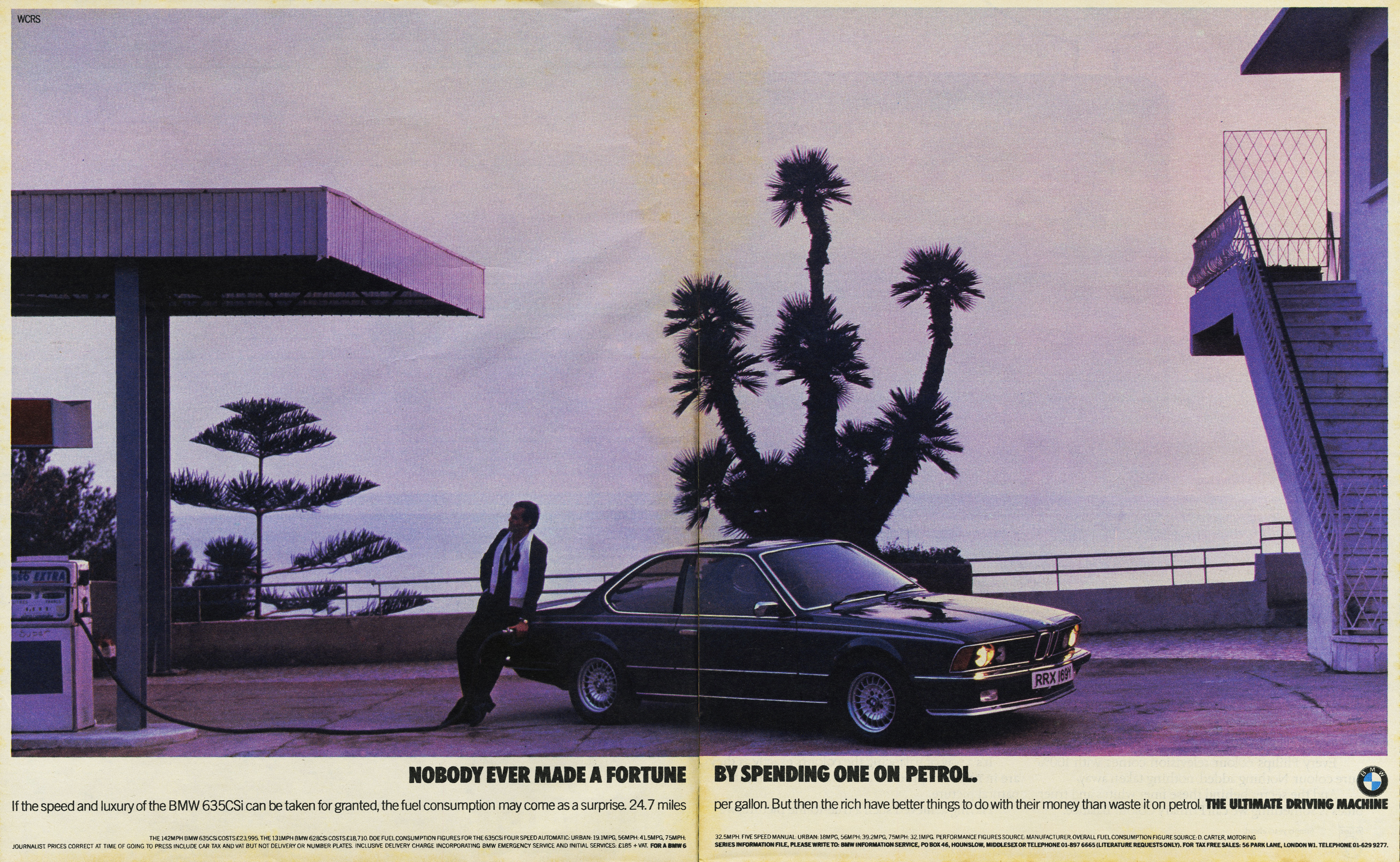 Rolph Gobits - BMW 'Puple Cactus'*, WCRS-01
