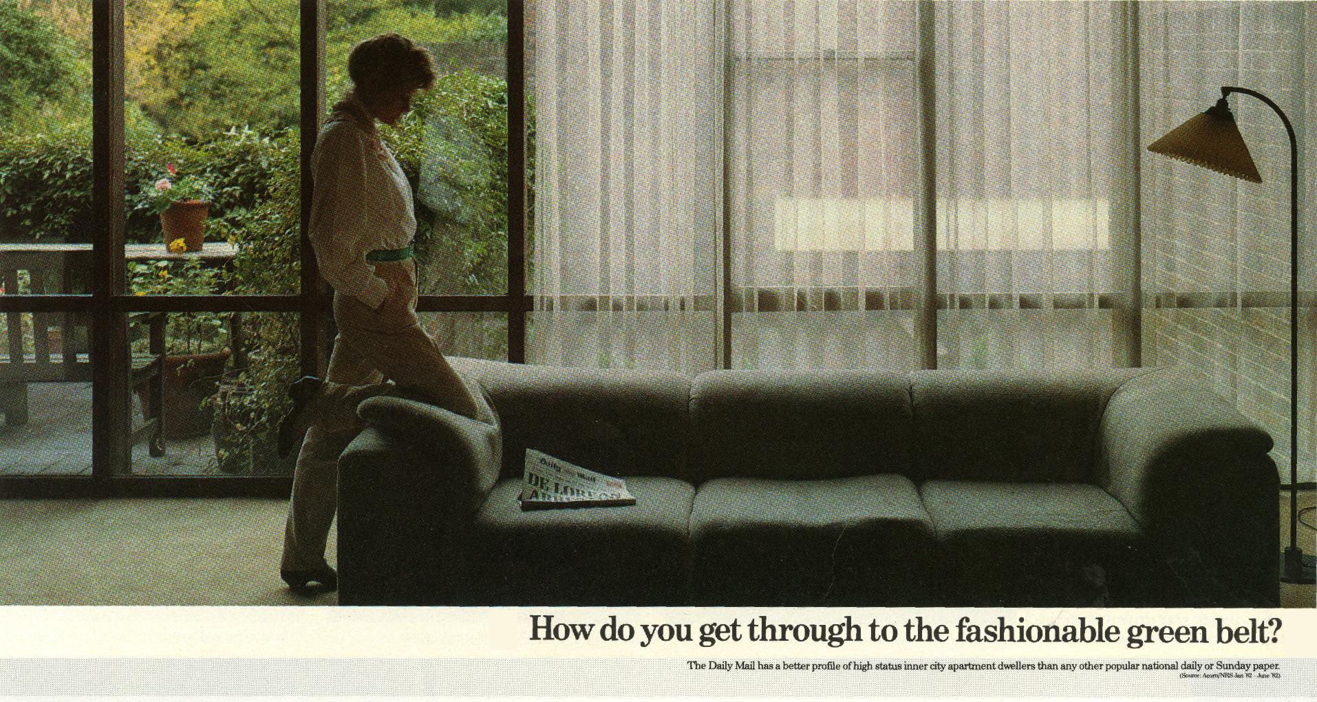 Rolph Gobits - Daily Mail 'Green Belt', Paul Arden-01
