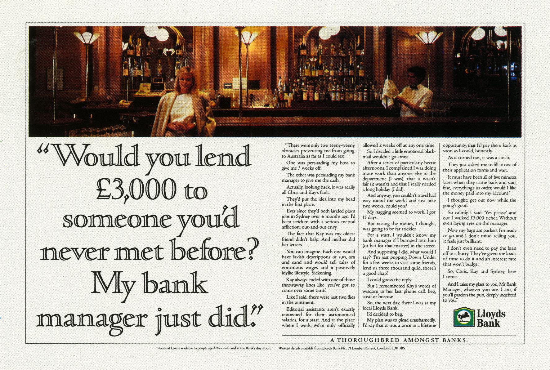 Rolph Gobits, Lloyd's Bank 'Gin Bar', Lowe-01