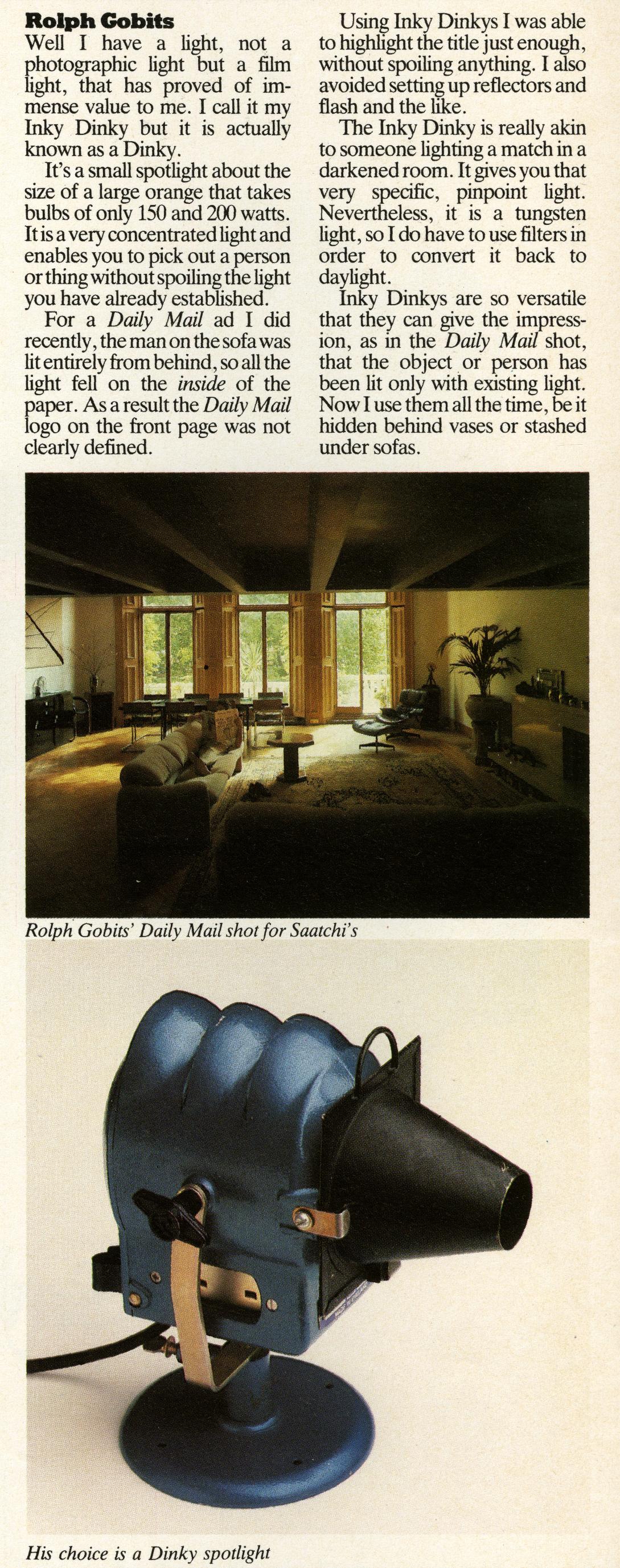 Roplh Gobits, 'Best Buy', Direction magazine-01
