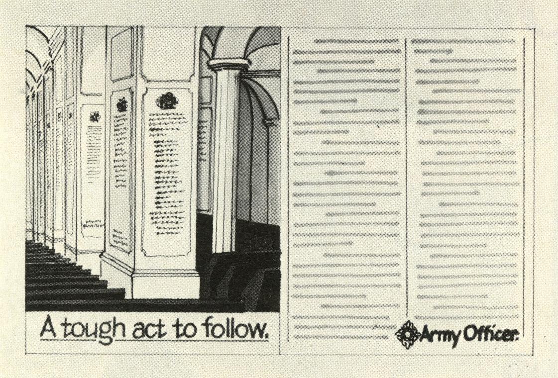 Barney Edwards, Army 'Tough Act' rough, CDP-02