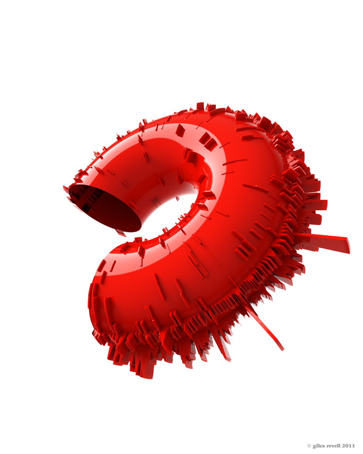 Giles Revell - Red, Curly, Spiky Thing, Dave Dye