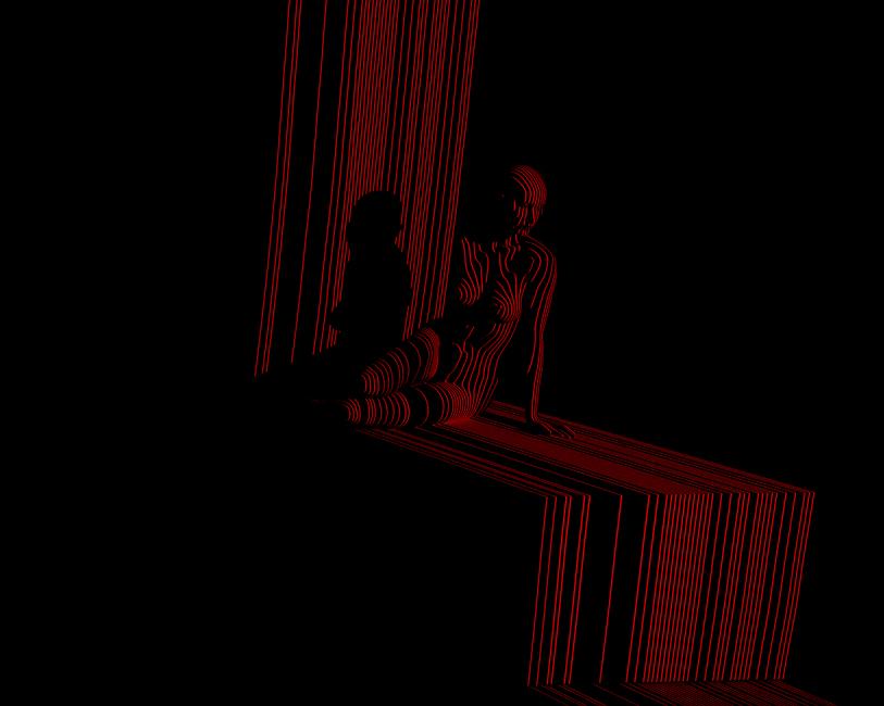 Giles Revell - Red Stripe 1, Dave Dye