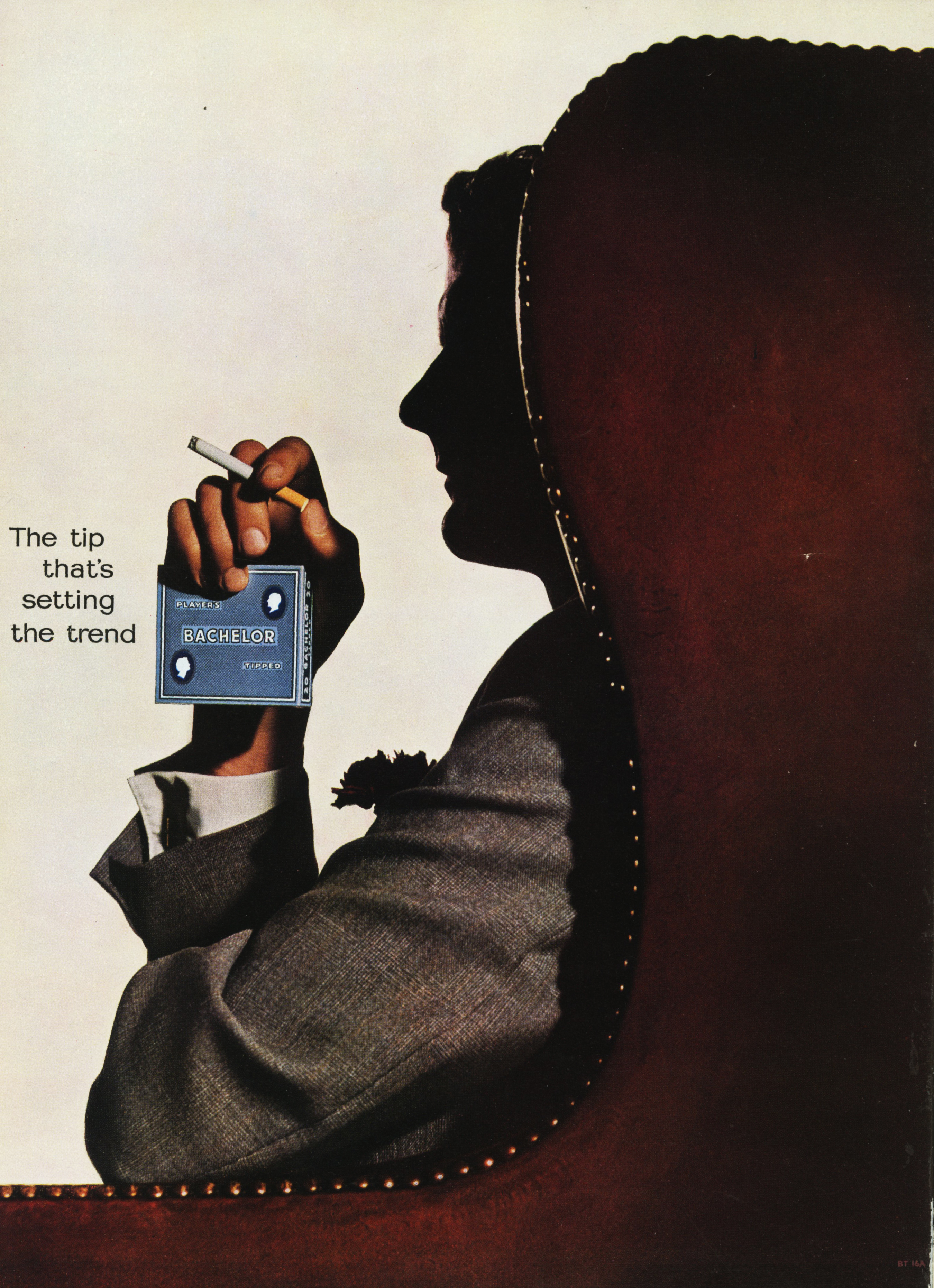 Lester Bookbinder, Bachelors Cigarettes - 'Arm Chair'-01