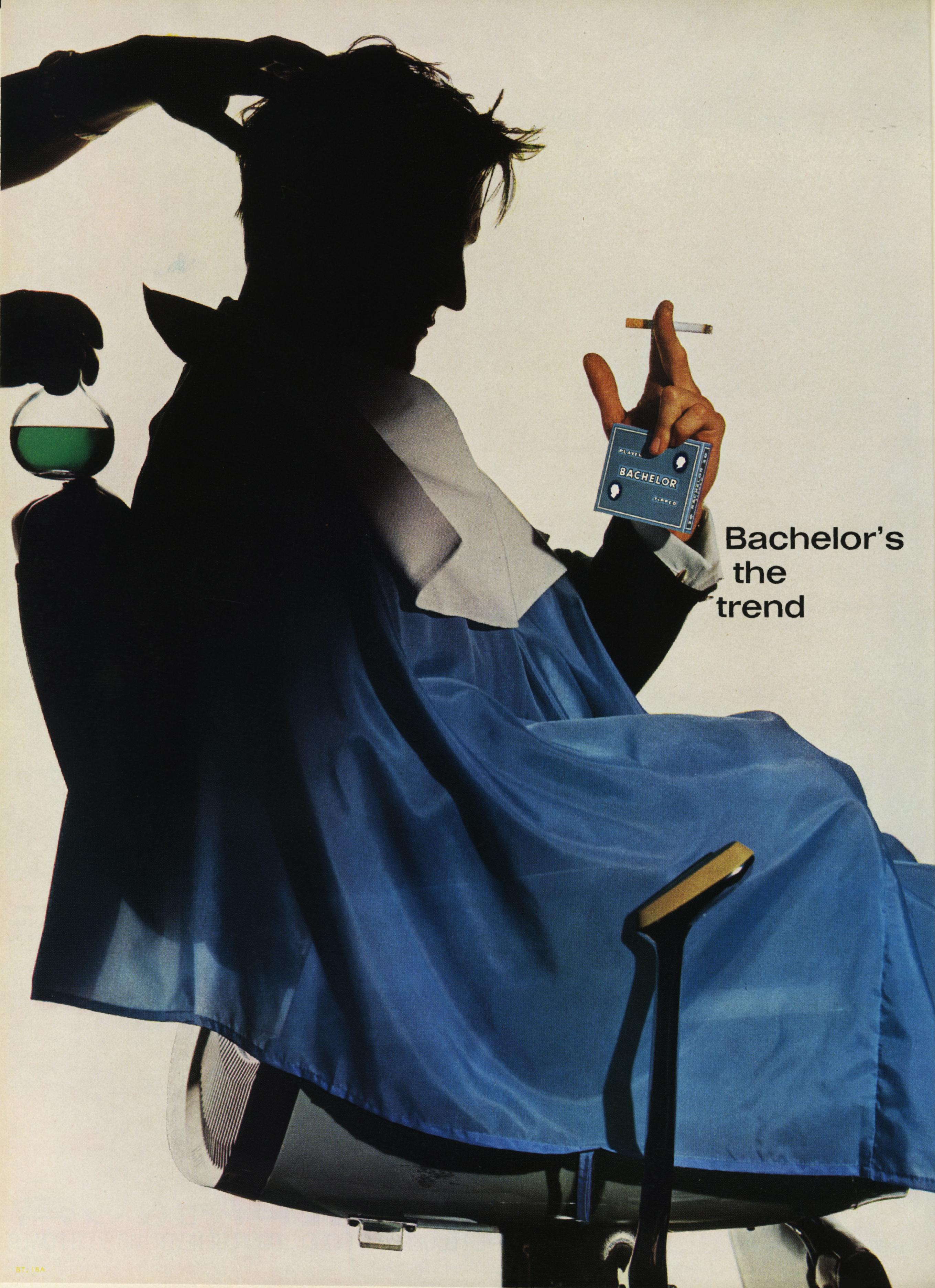 Lester Bookbinder, Bachelors Cigarettes - 'Barbers'-01