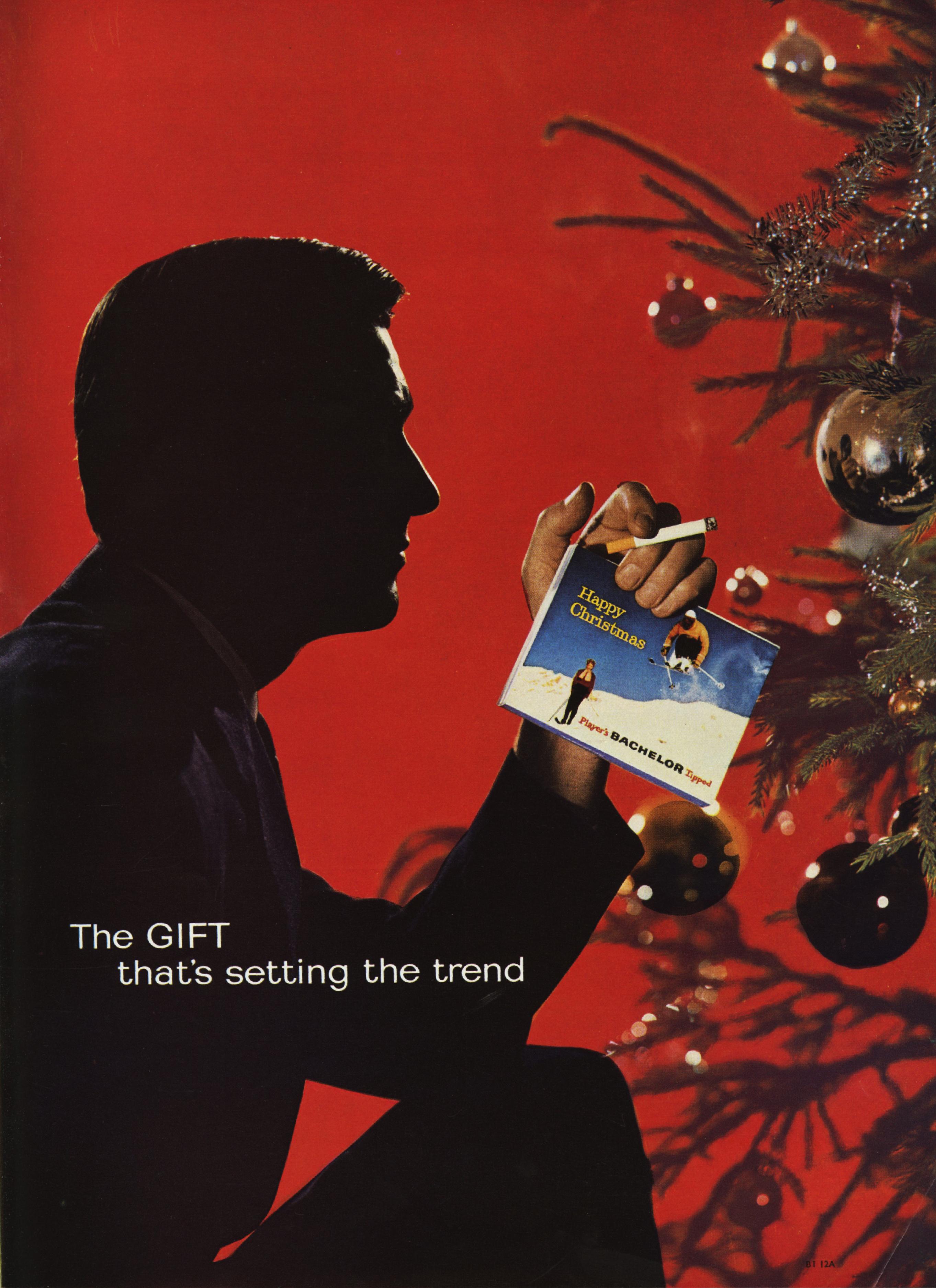 Lester Bookbinder, Bachelors Cigarettes - 'Christmas Tree'-01
