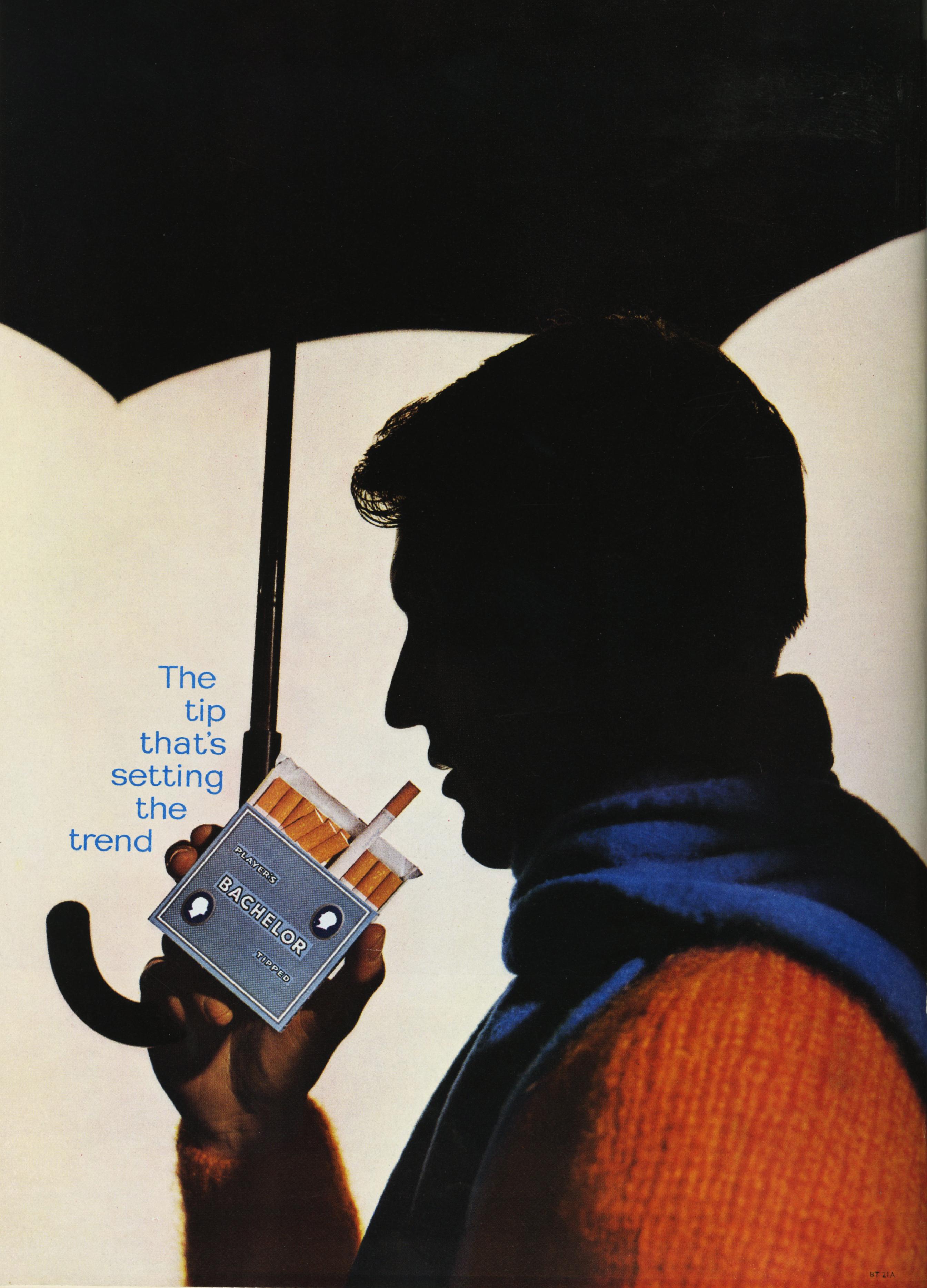 Lester Bookbinder, Bachelors Cigarettes - 'Jumper'-01