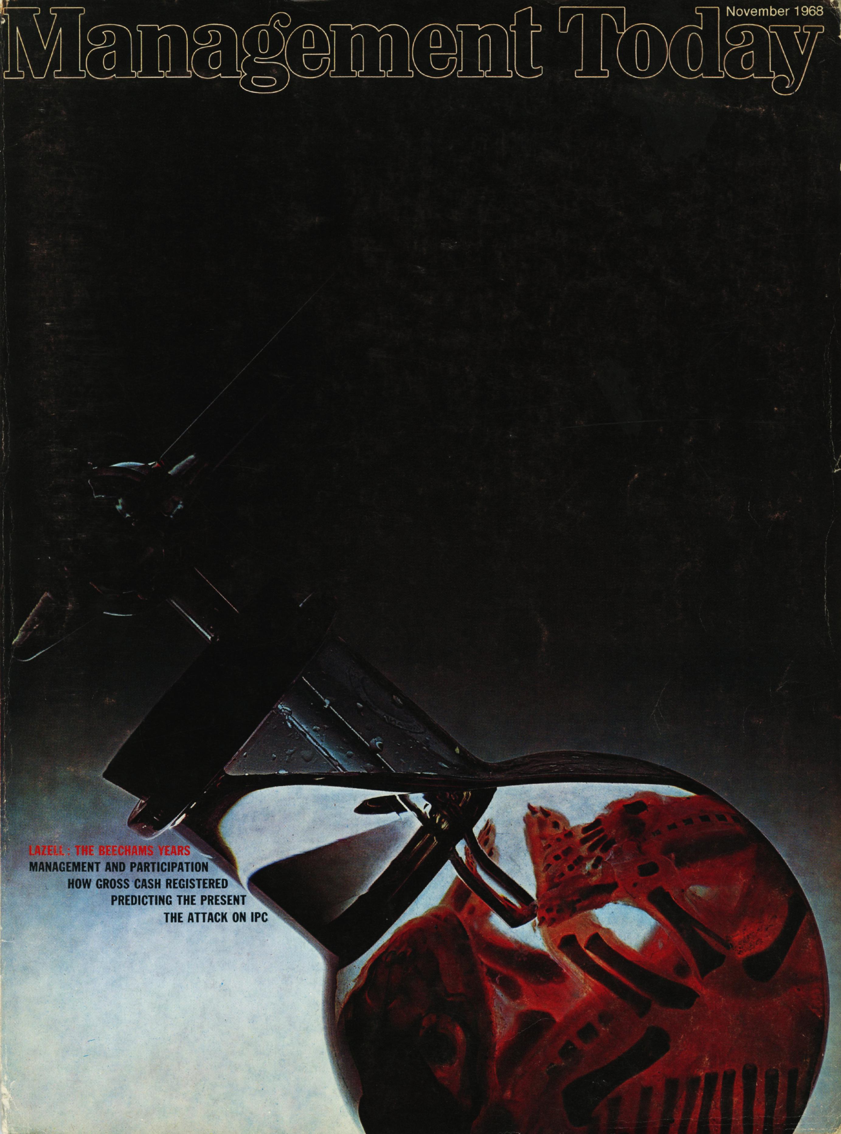 Lester Bookbinder, Management Today 'Blood Tube'**-01
