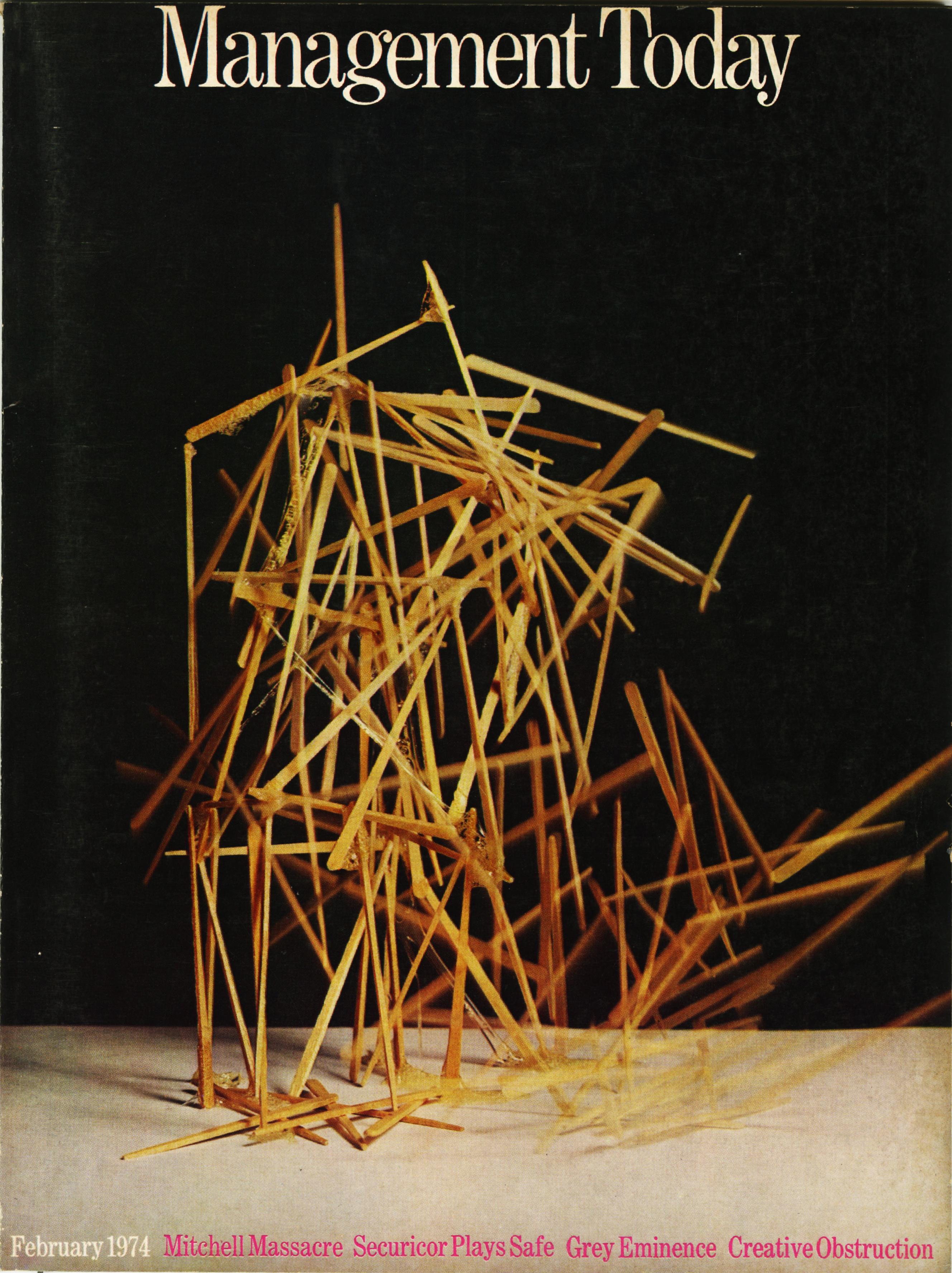 Lester Bookbinder, Management Today 'Matchsticks'**
