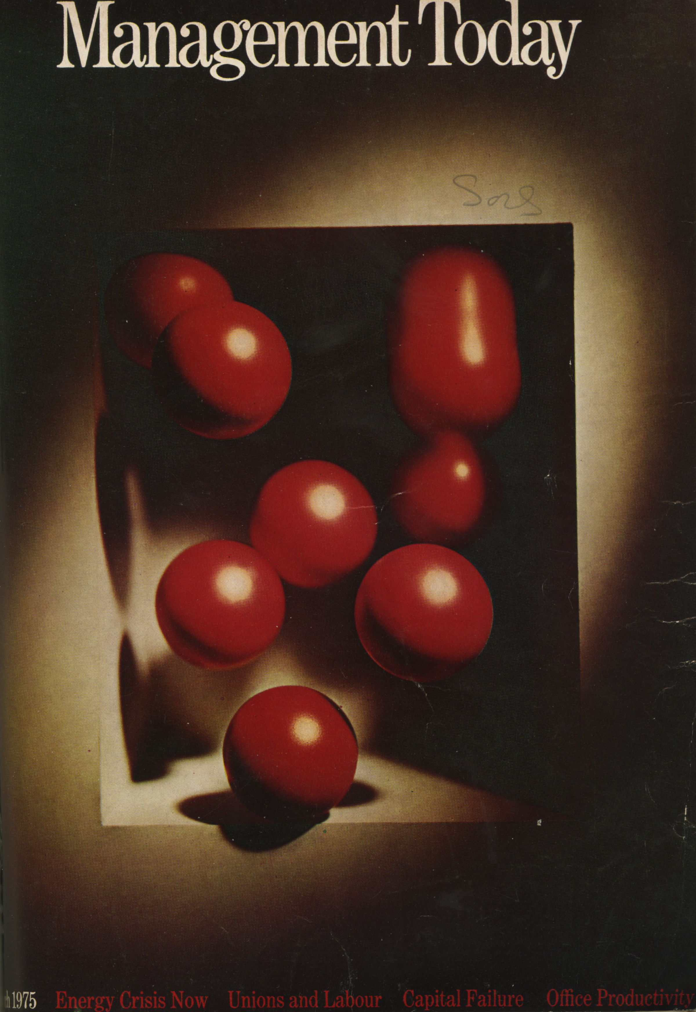 Lester Bookbinder, Management Today 'Red Balls'**-01