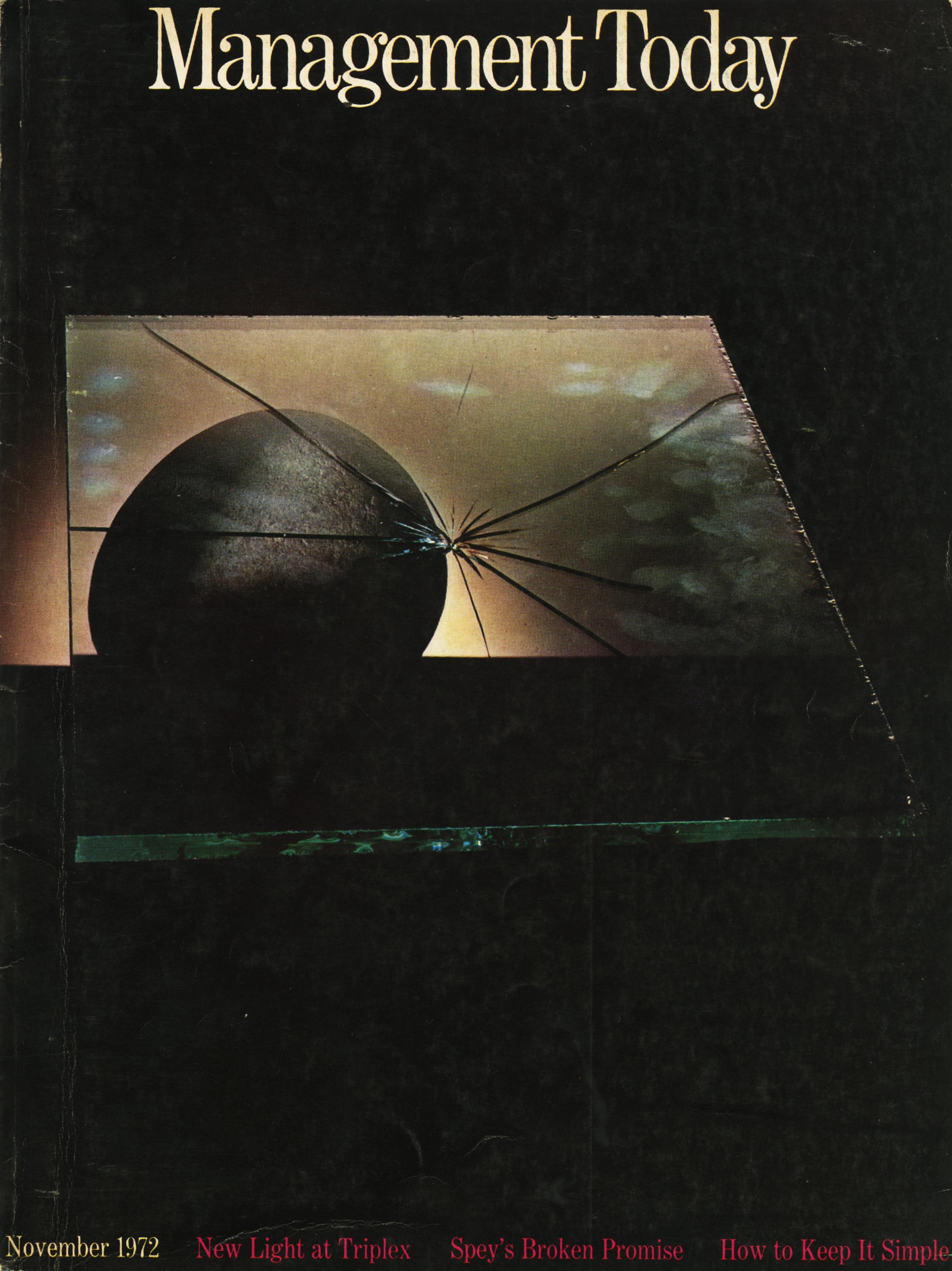 Lester Bookbinder, Management Today 'Smash'**
