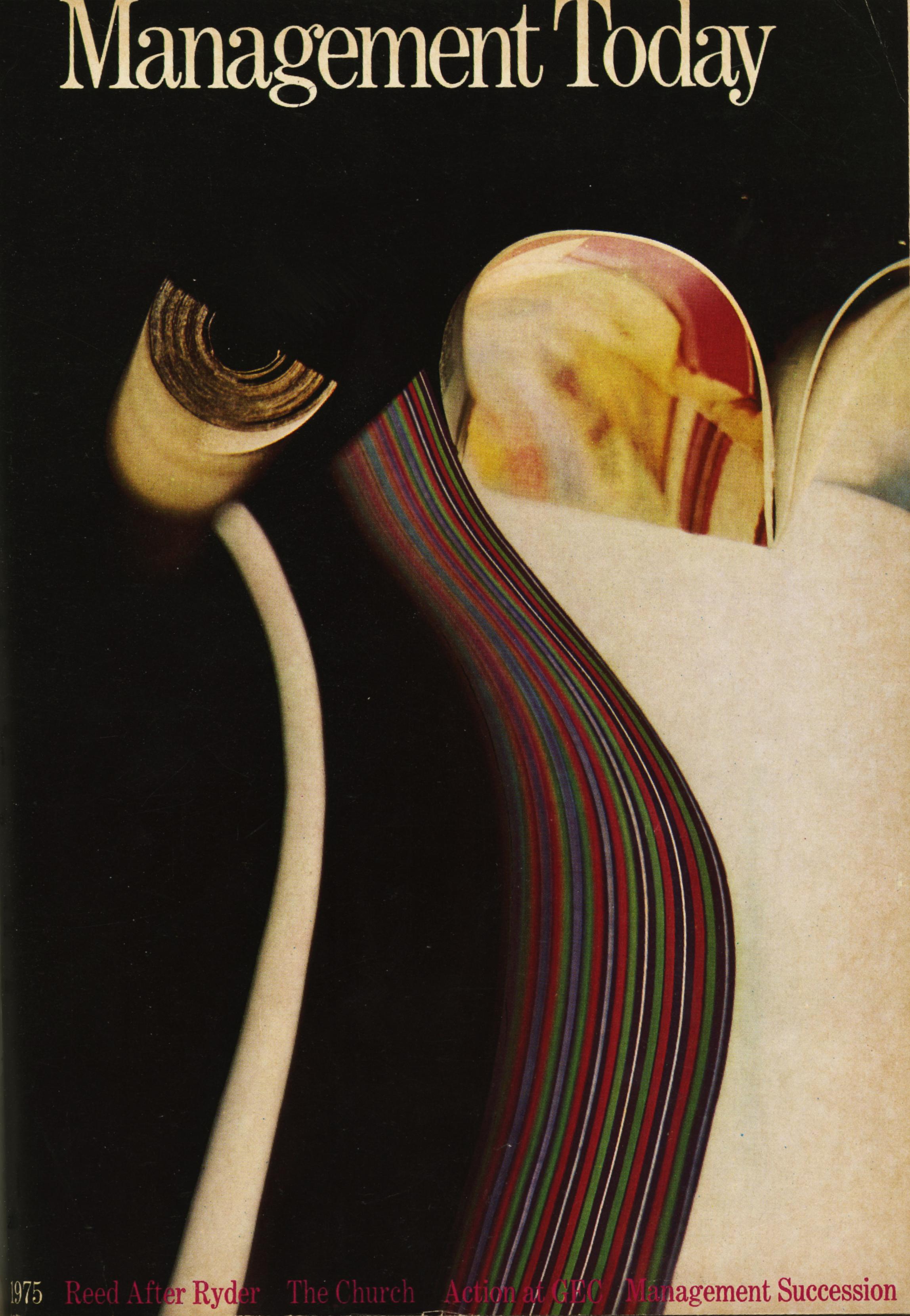 Lester Bookbinder, Management Today 'Stripes'**