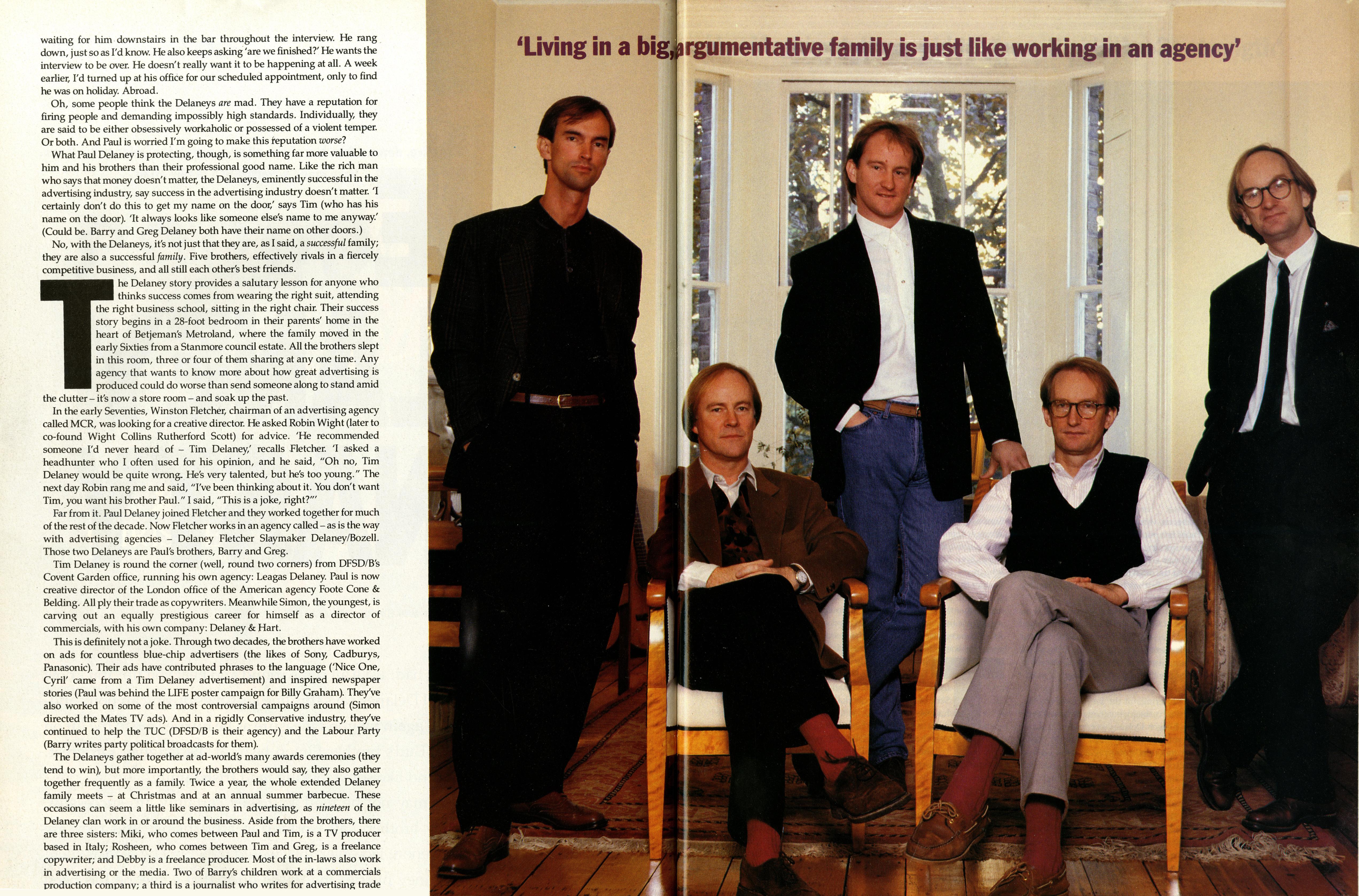 Tim Delaney, GQ article 'The Delaney's'-01