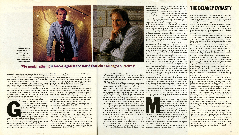 Tim Delaney, GQ article 'The Delaneys 3'-01