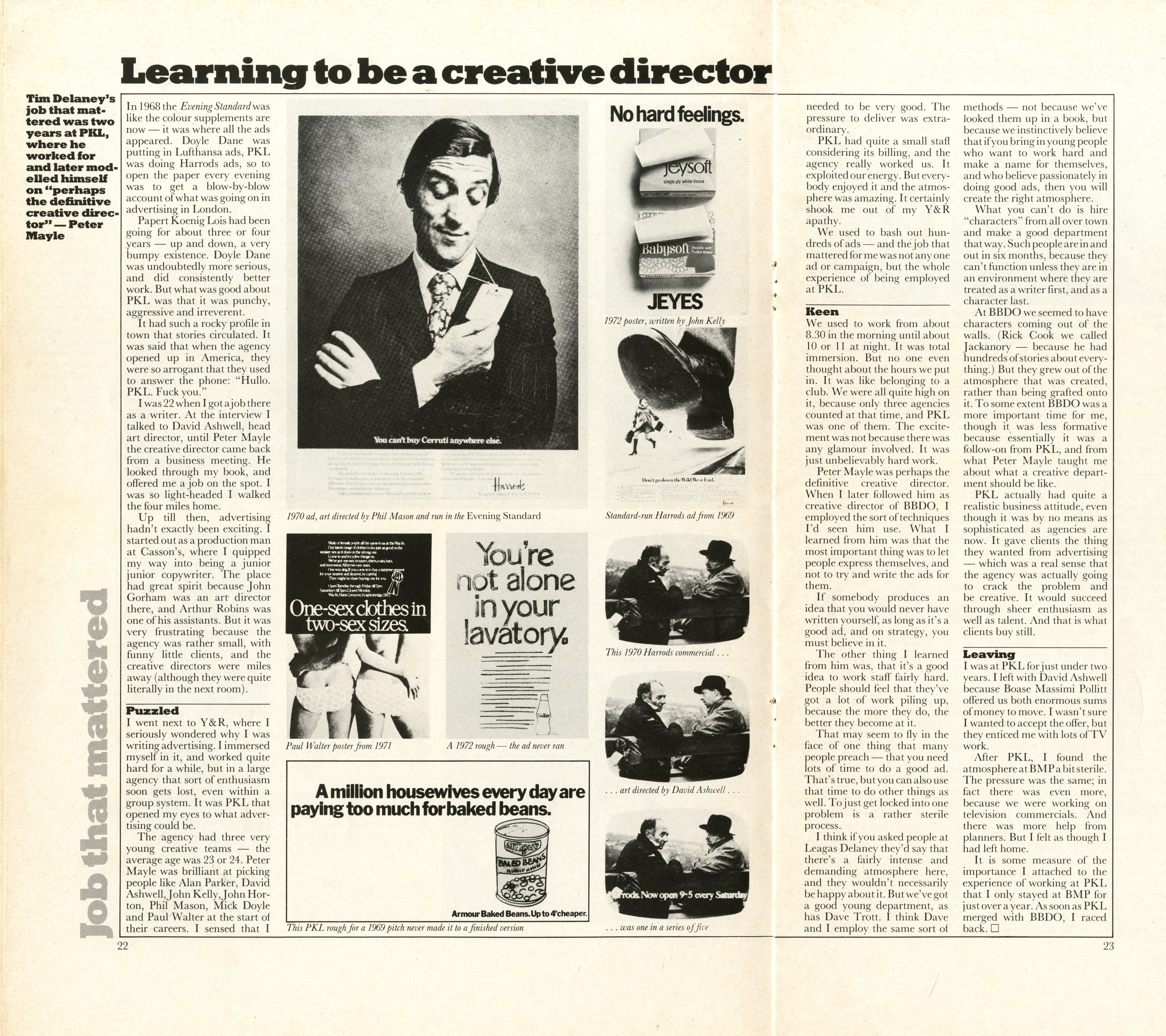 Tim Delaney, 'Learning To Be A C.D.', Direction-01
