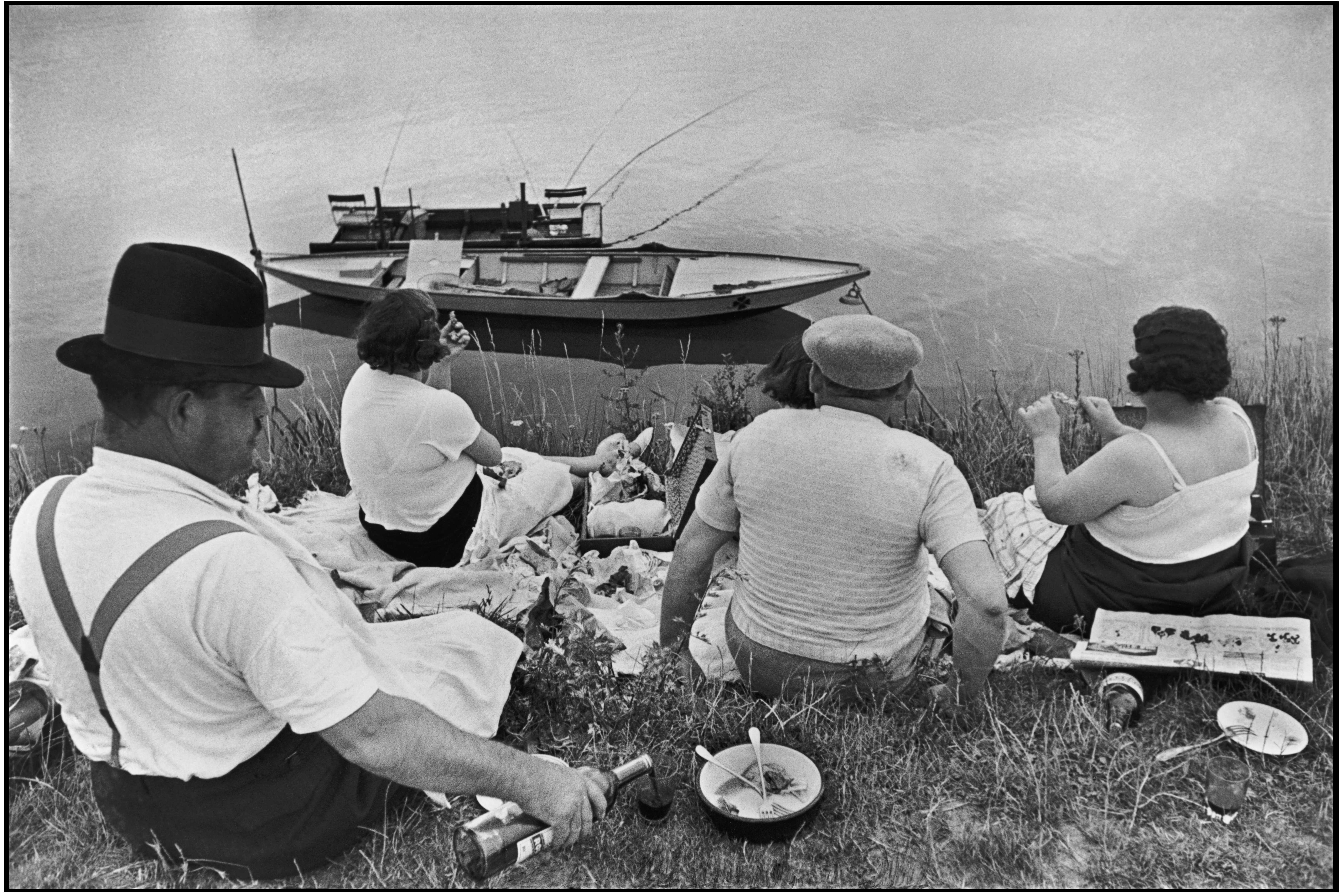 Sunday on the Banks of the River Seine, 1938