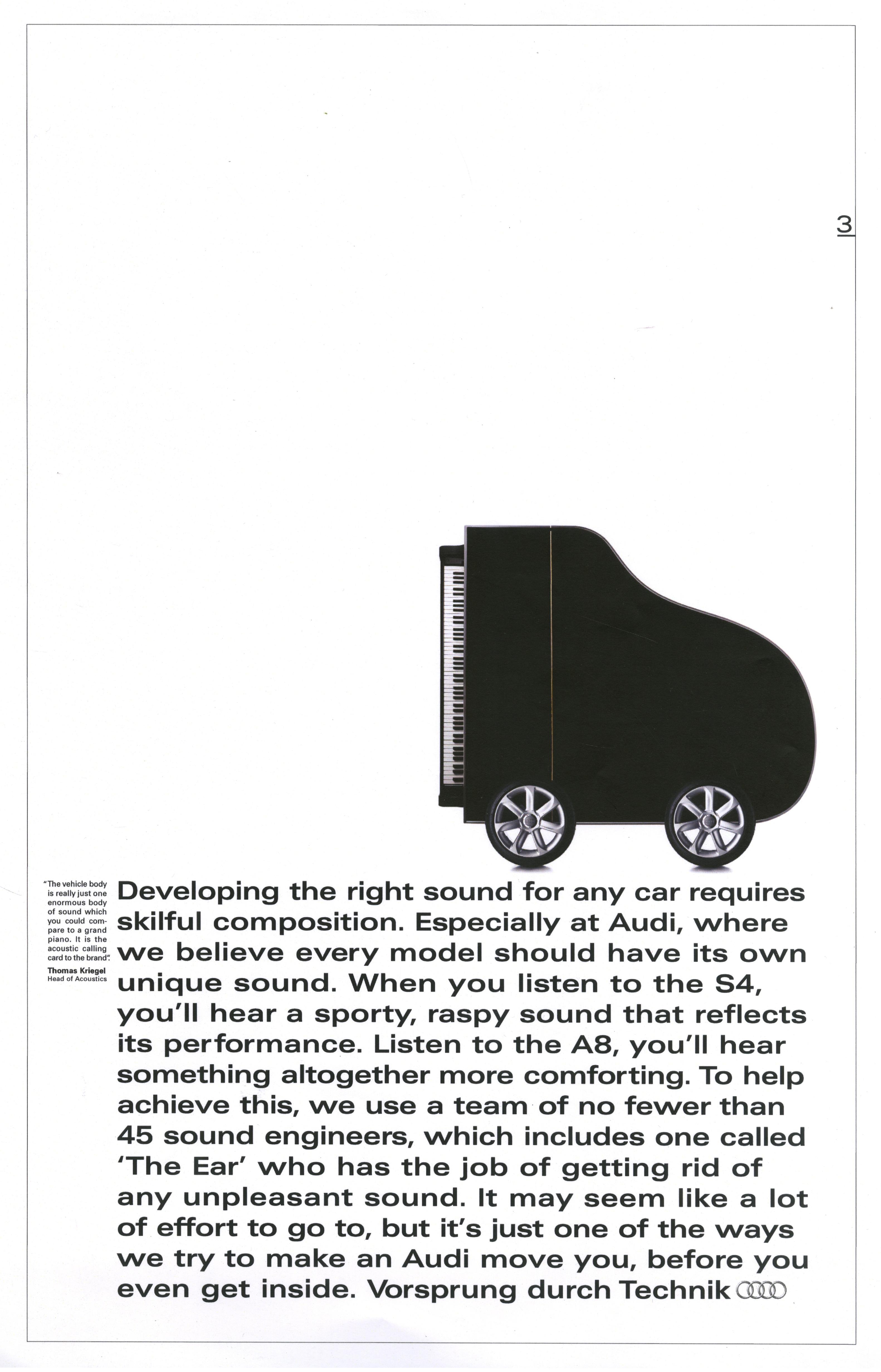 'Developing The' Audi, Mark Reddy, BBH-01
