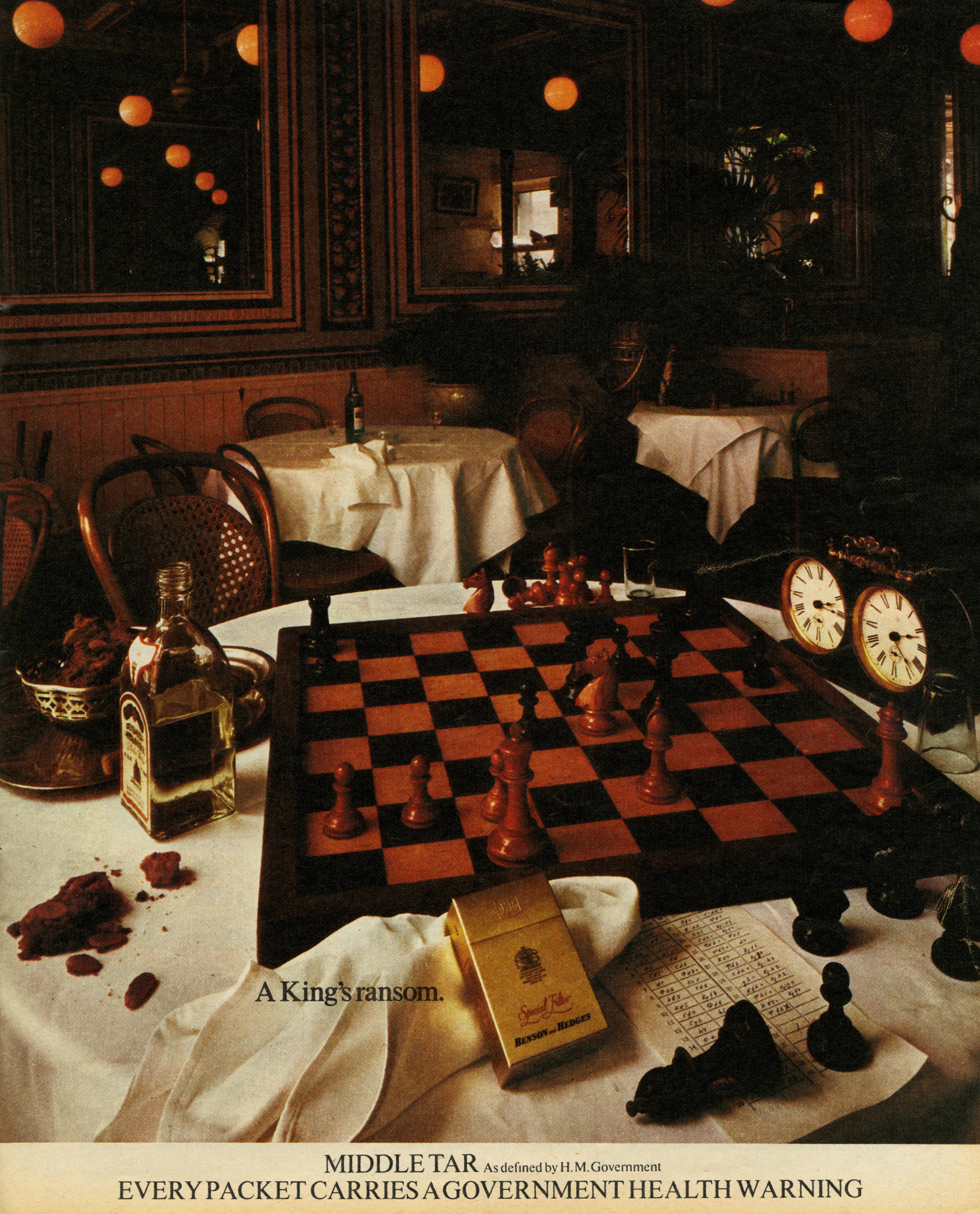 B&H Gold Box - 'Chess', CDP-01