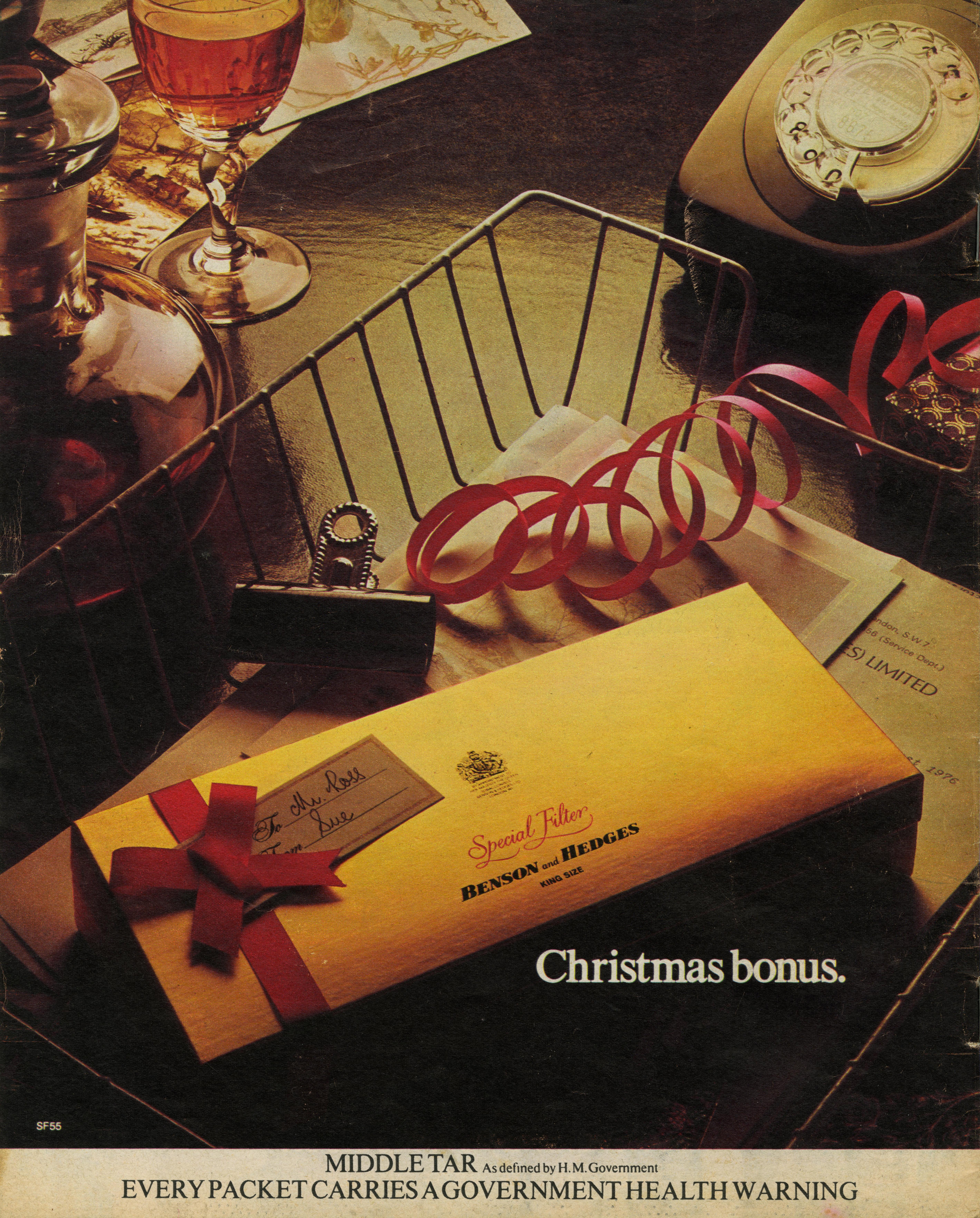 B&H Gold Box - 'Christmas Bonus', CDP-01