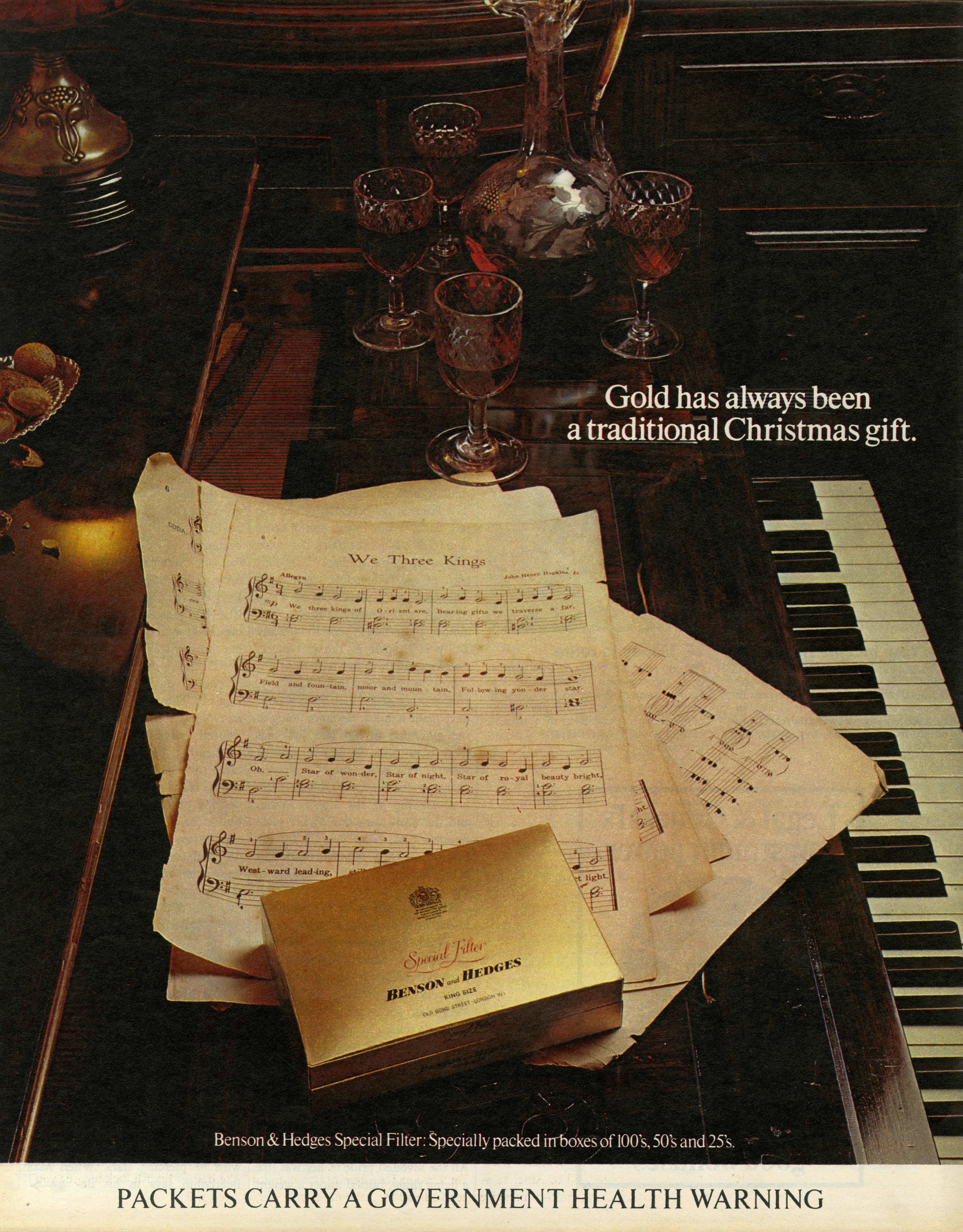 B&H Gold Box - 'Piano', CDP-01