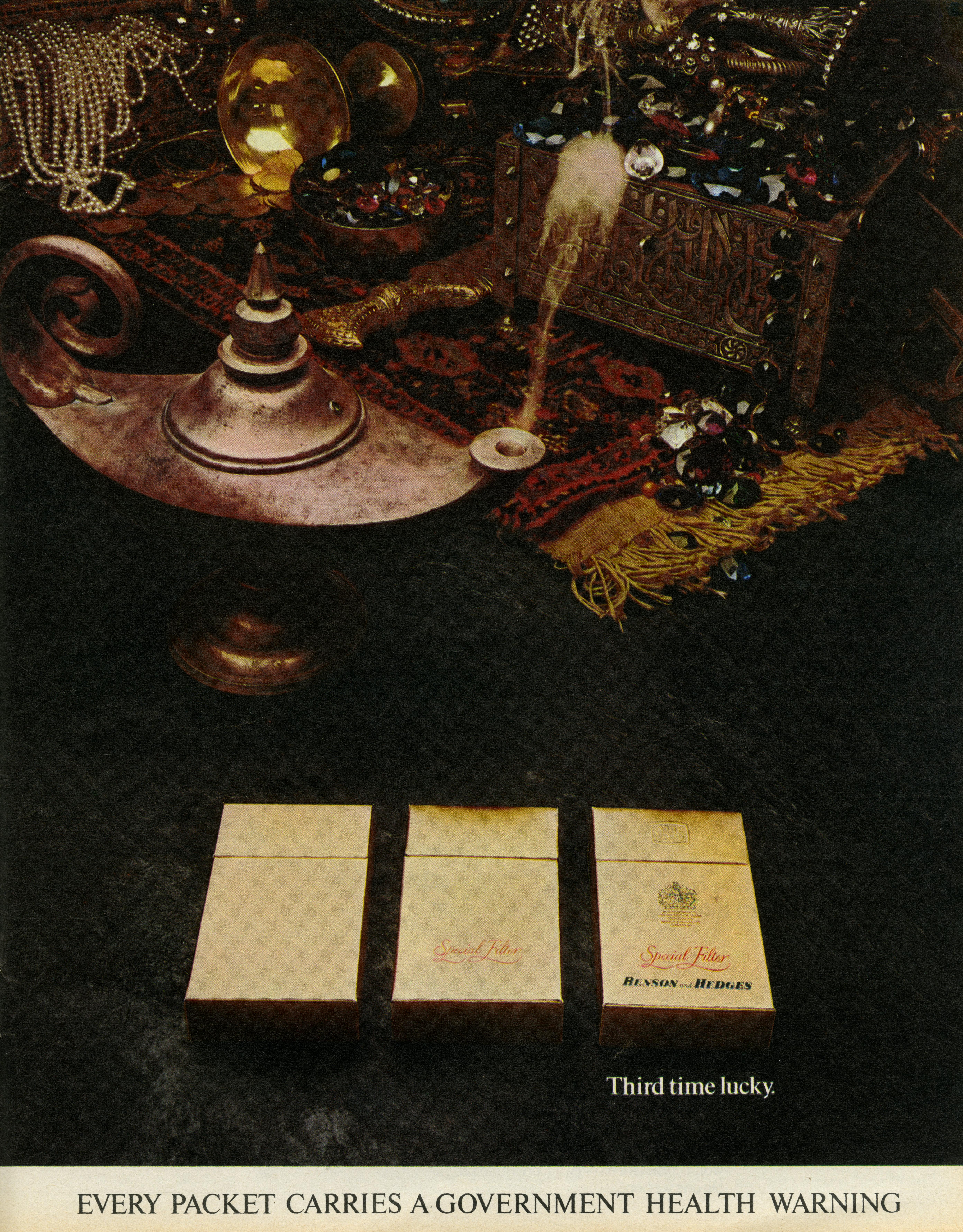 B&H Gold Box 'Third Time', CDP-01