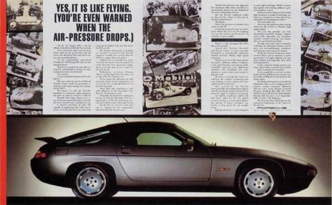 Lester Bookbinder Porsche 'Flying'