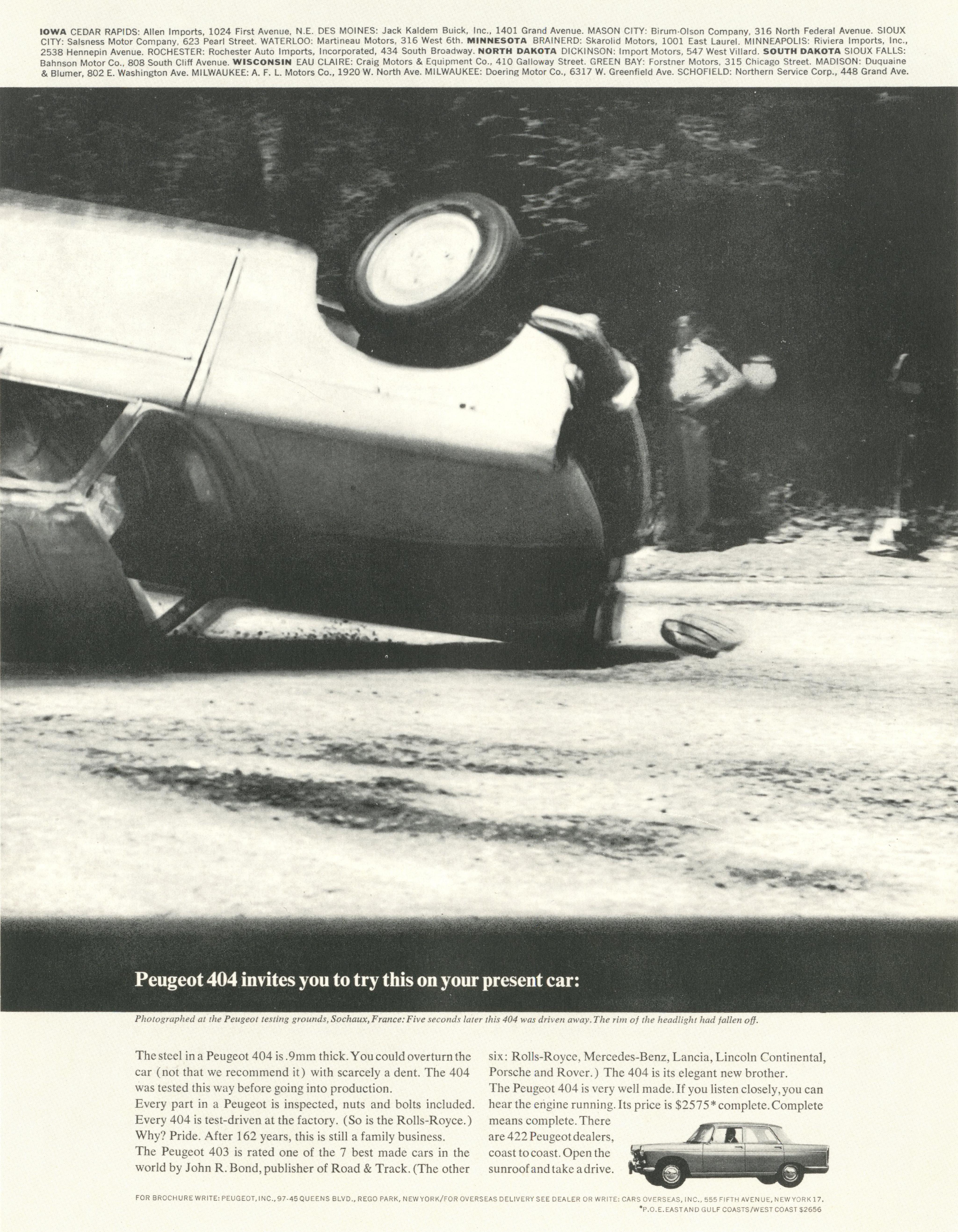 PKL2; Peugeot 'Present Car'-01