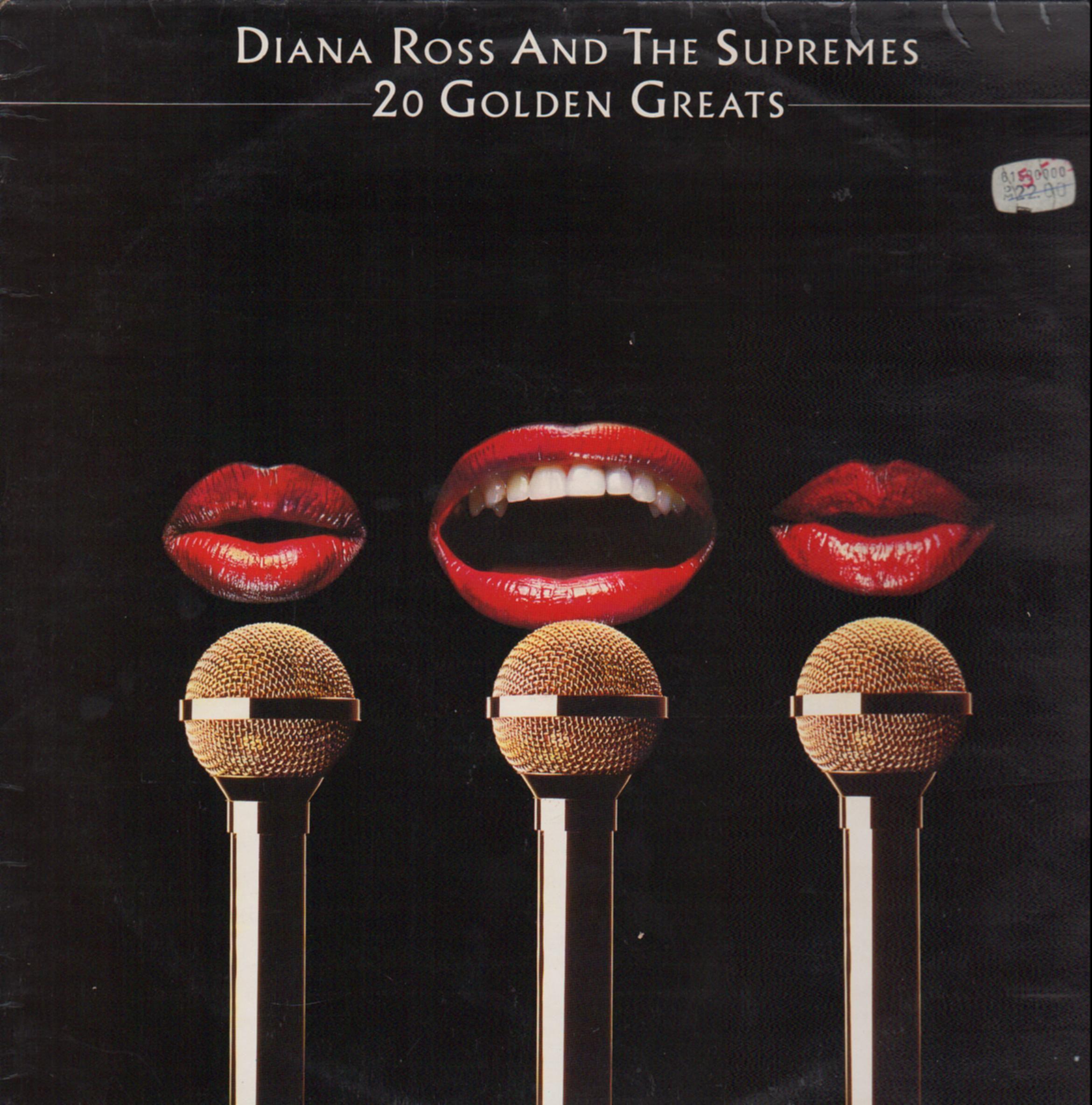 Diana Ross & The Supremes, John O'Driscoll:CDP20goldengreats