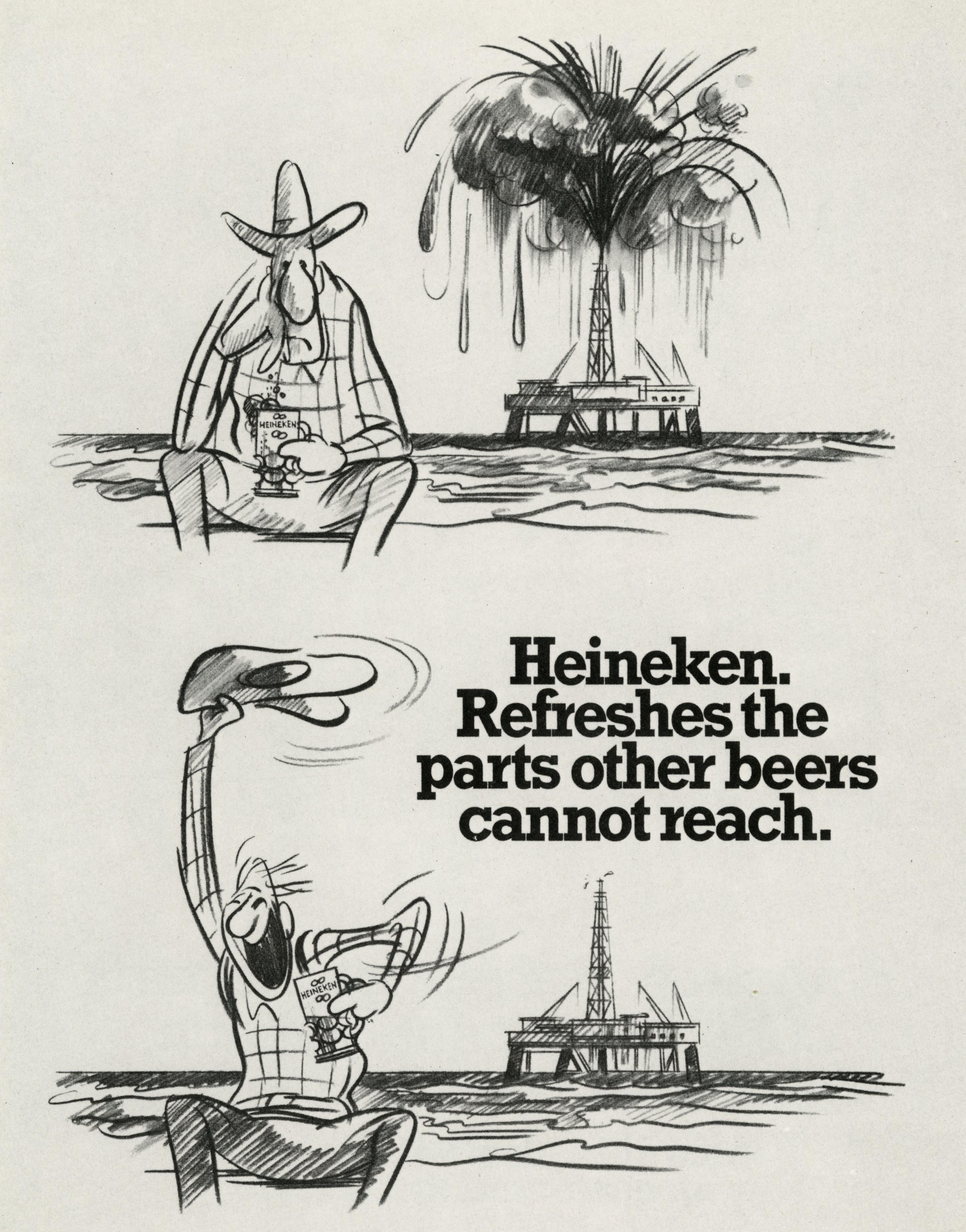 Mike Cozens:Heineken 'Red Adair'