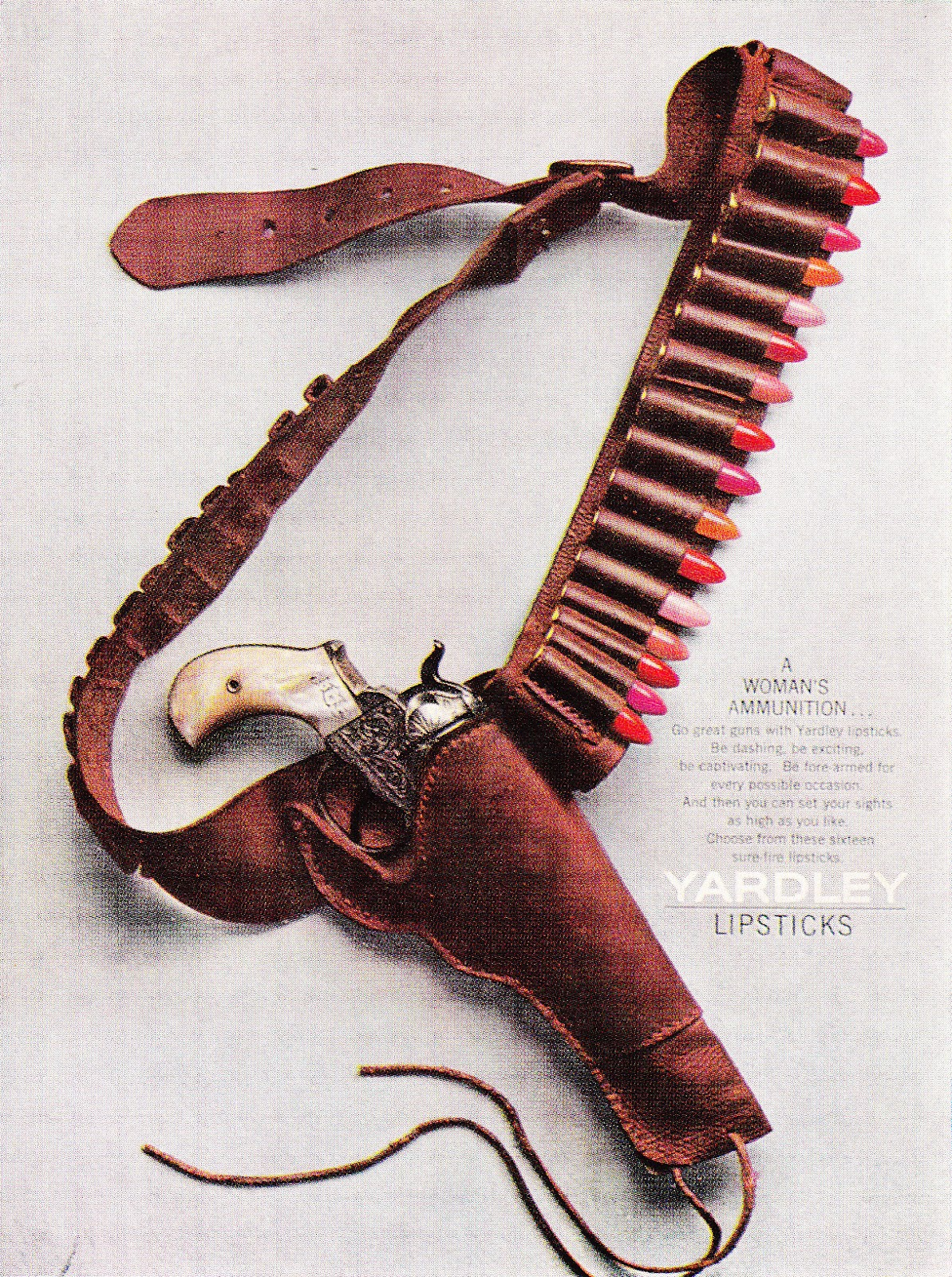 Yardley Lipstic ad 1964