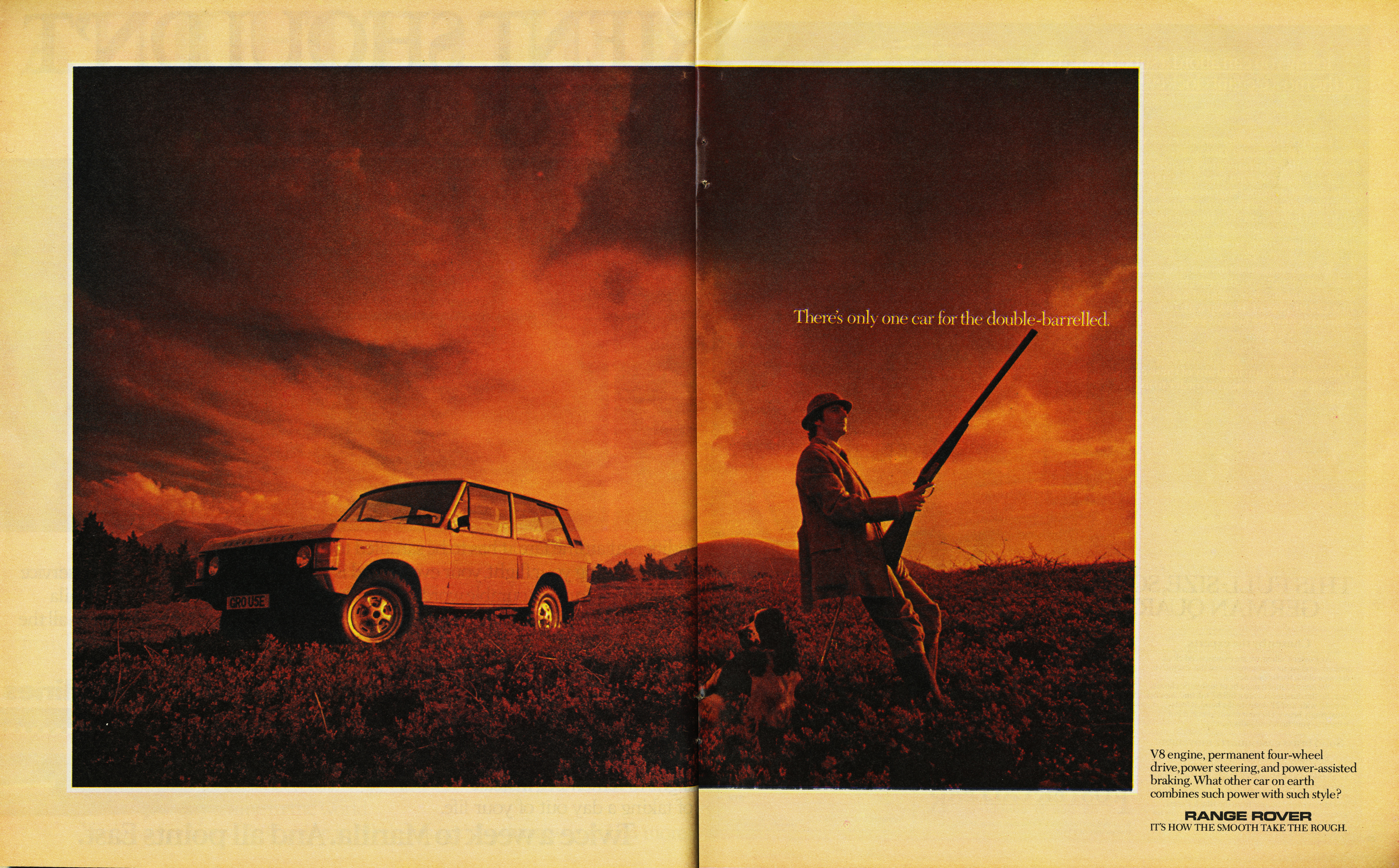 Mike Cozens, Range Rover 'Double-Barelled', TBWA-01