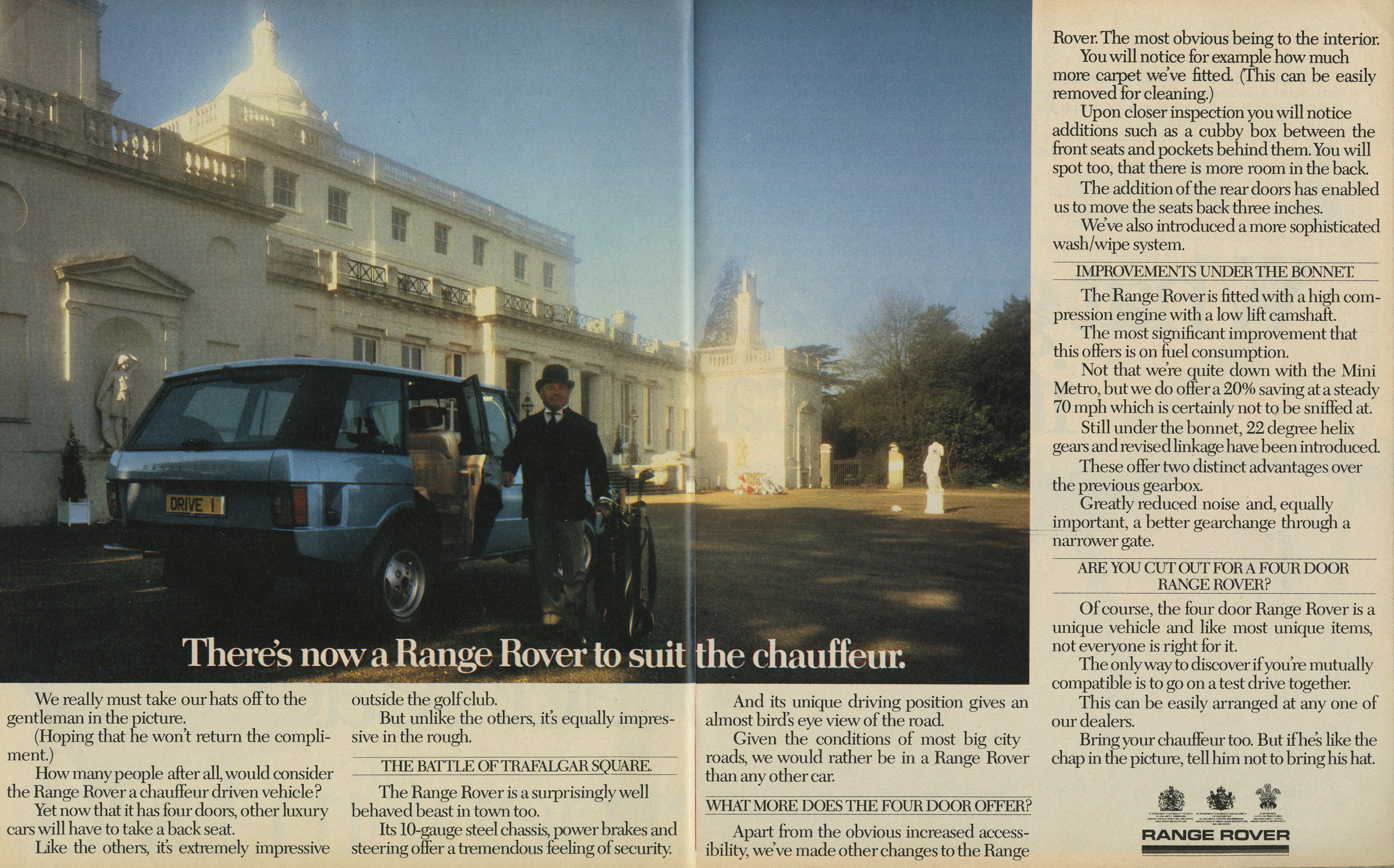 Mike Cozens, Range Rover 'Odd Job', TBWA