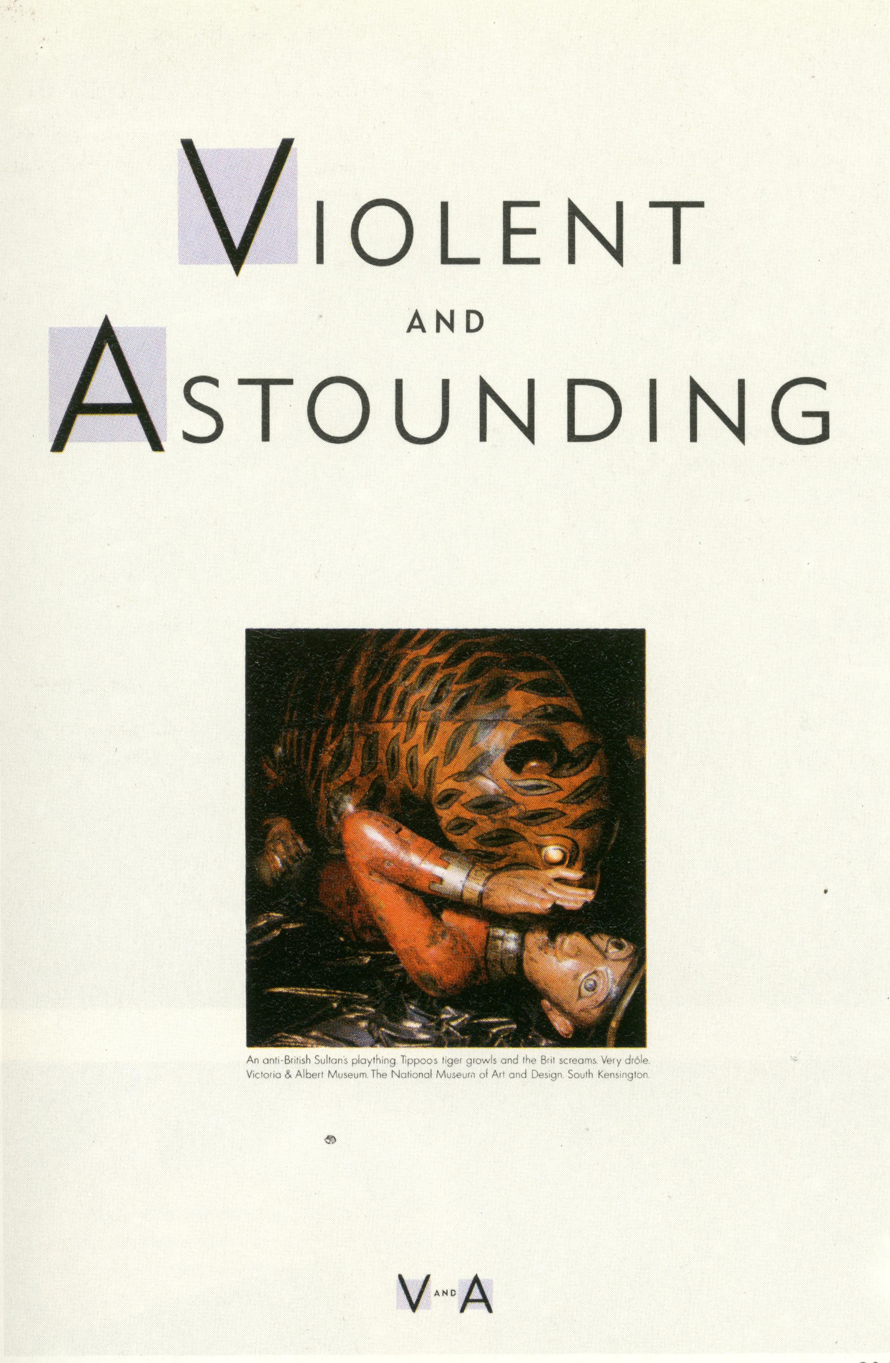 V&A, Paul Arden:Jeff Stark