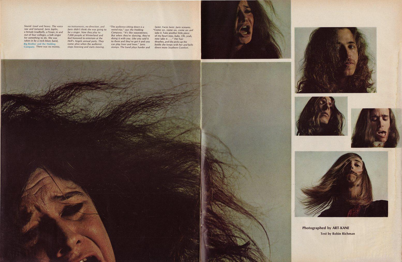 Art Kane 'Janis Joplin Spread'