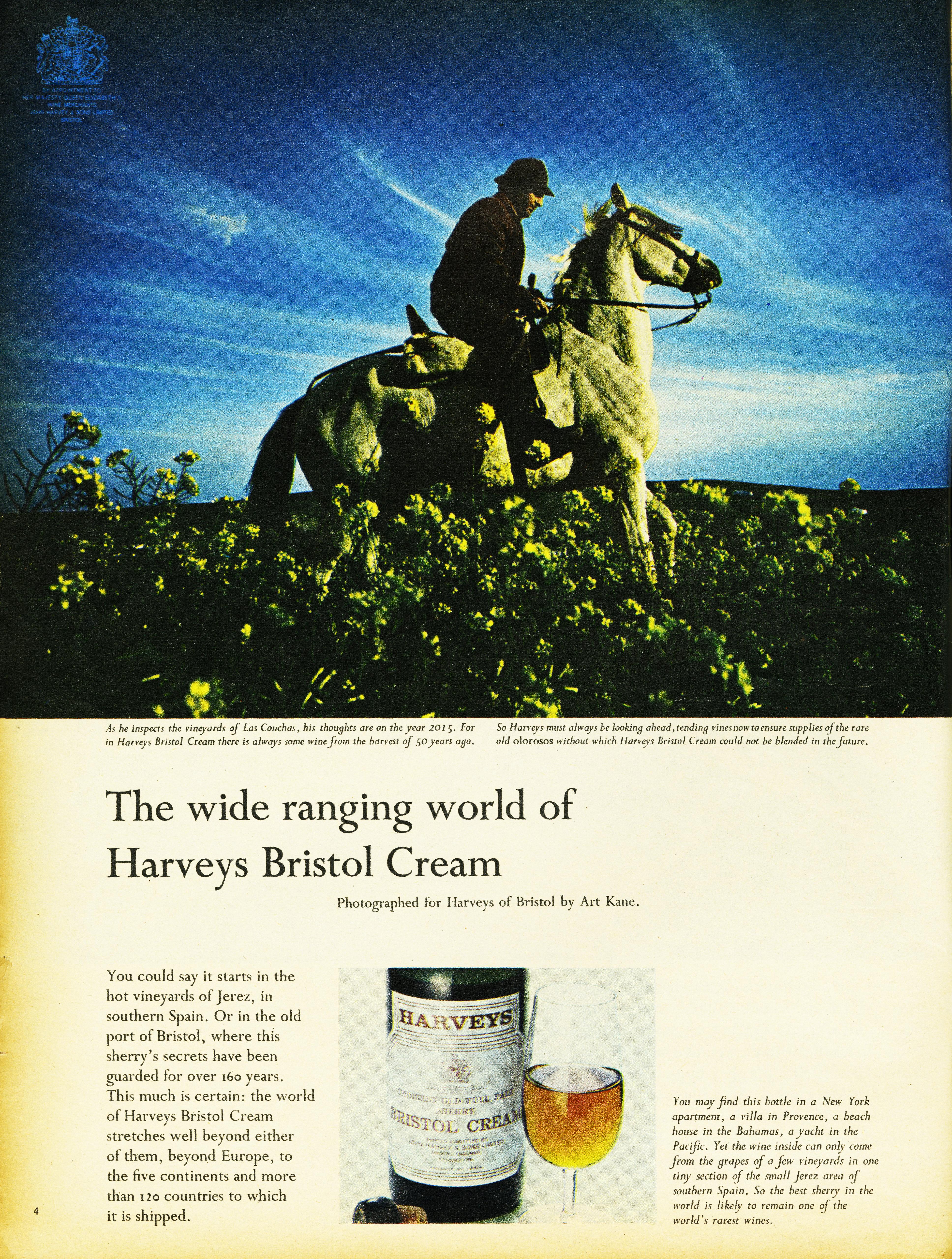 Colin Millward, Harvey's - 'Horse', Art Kane, CDP-03