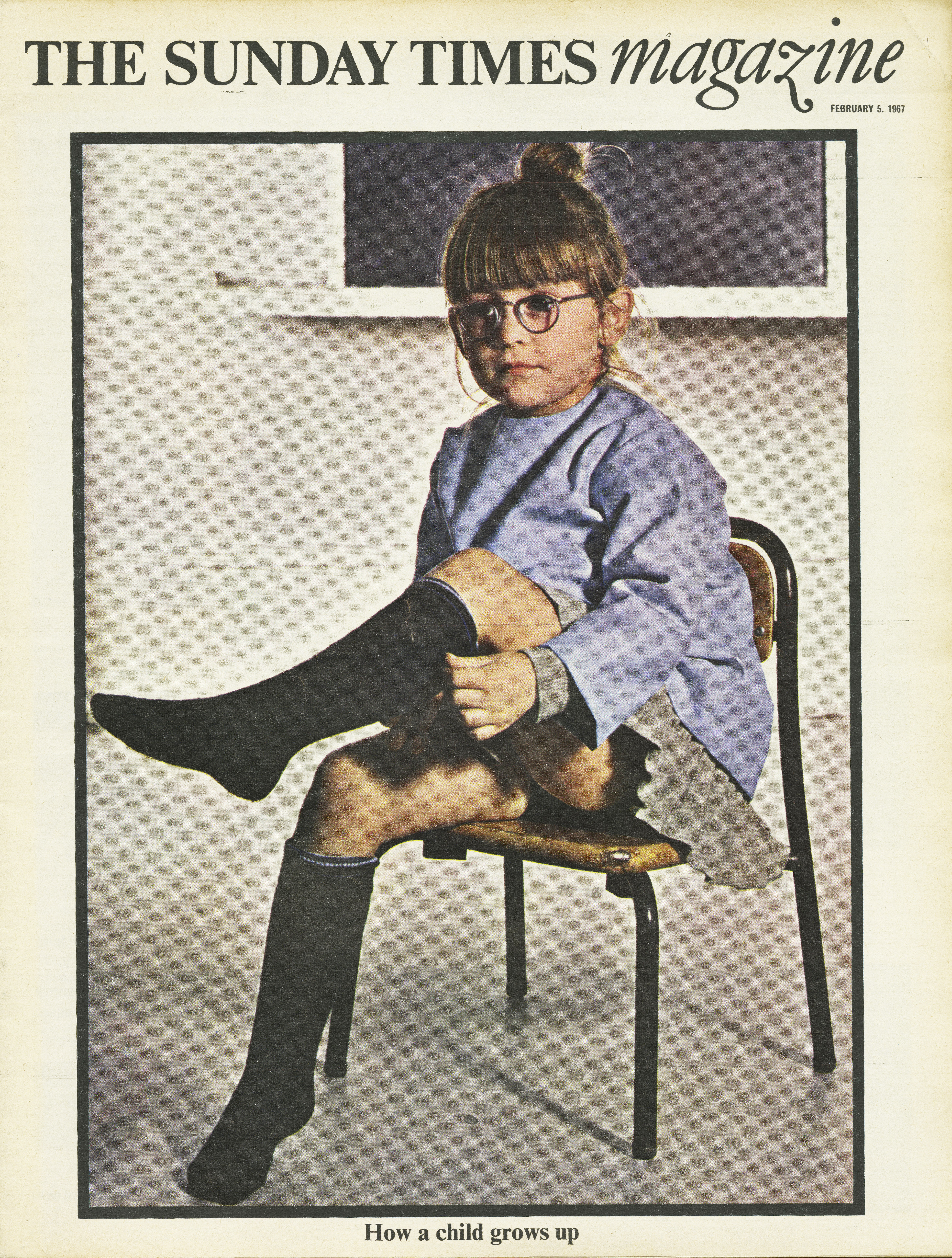 Robert Freson, Sunday Times 'How A Child Grows Up', Feb 5th 1967-01