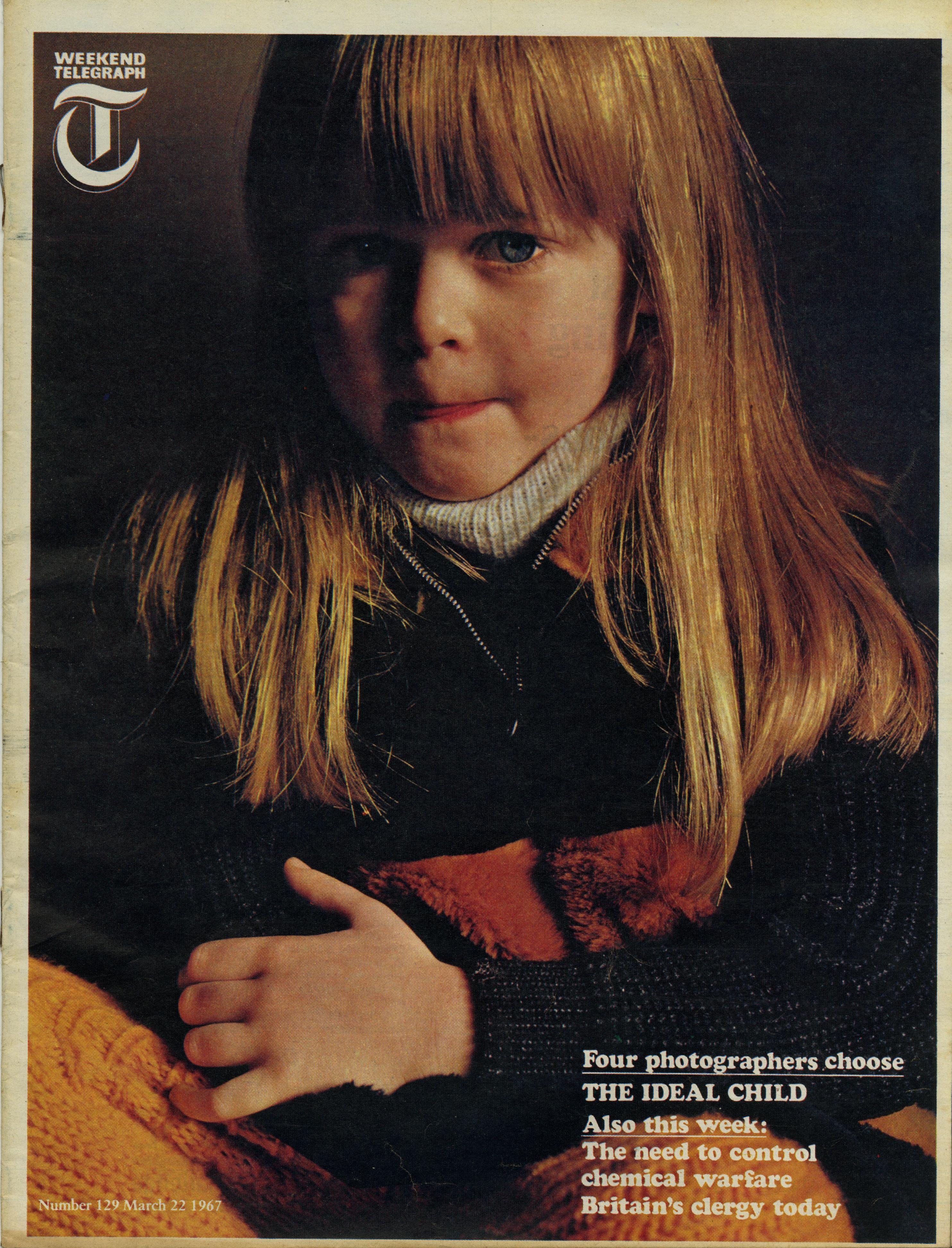 Robert Freson, Weekend Telegraph Cover 'Blond Girl'-01
