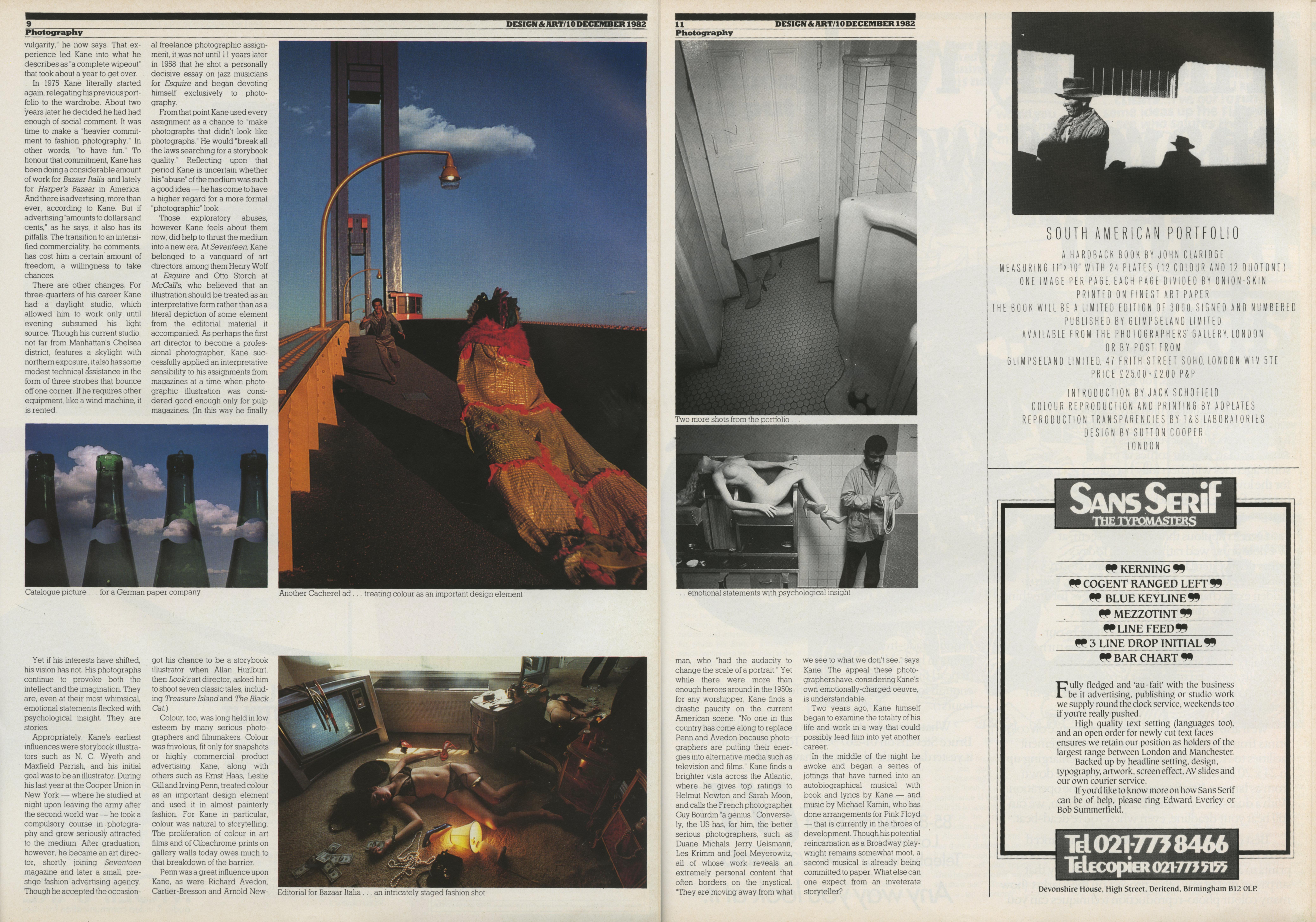 Art Kane - Direction Article - 1982 (b)