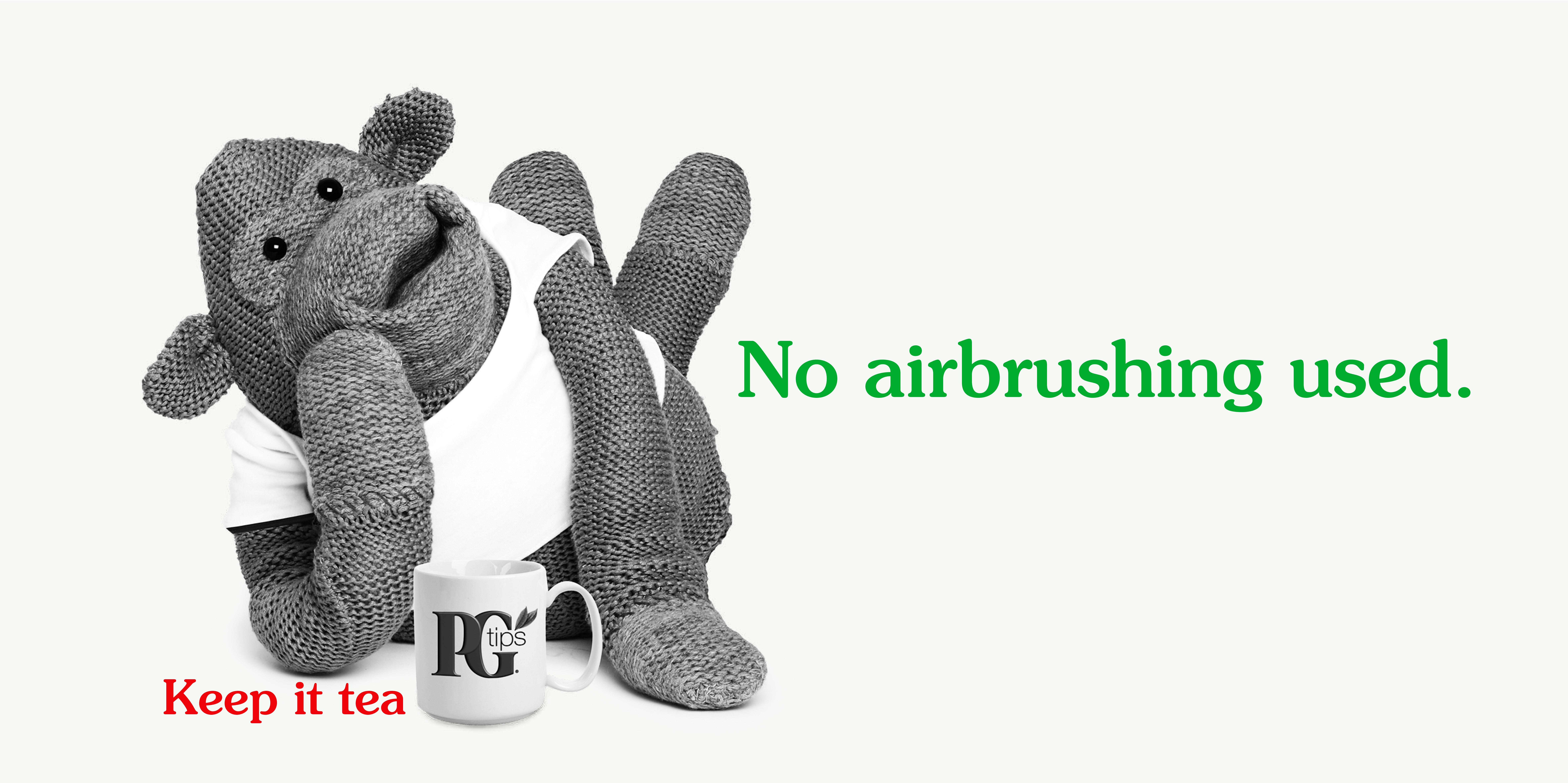 PG tips 'Airbrushing' rough