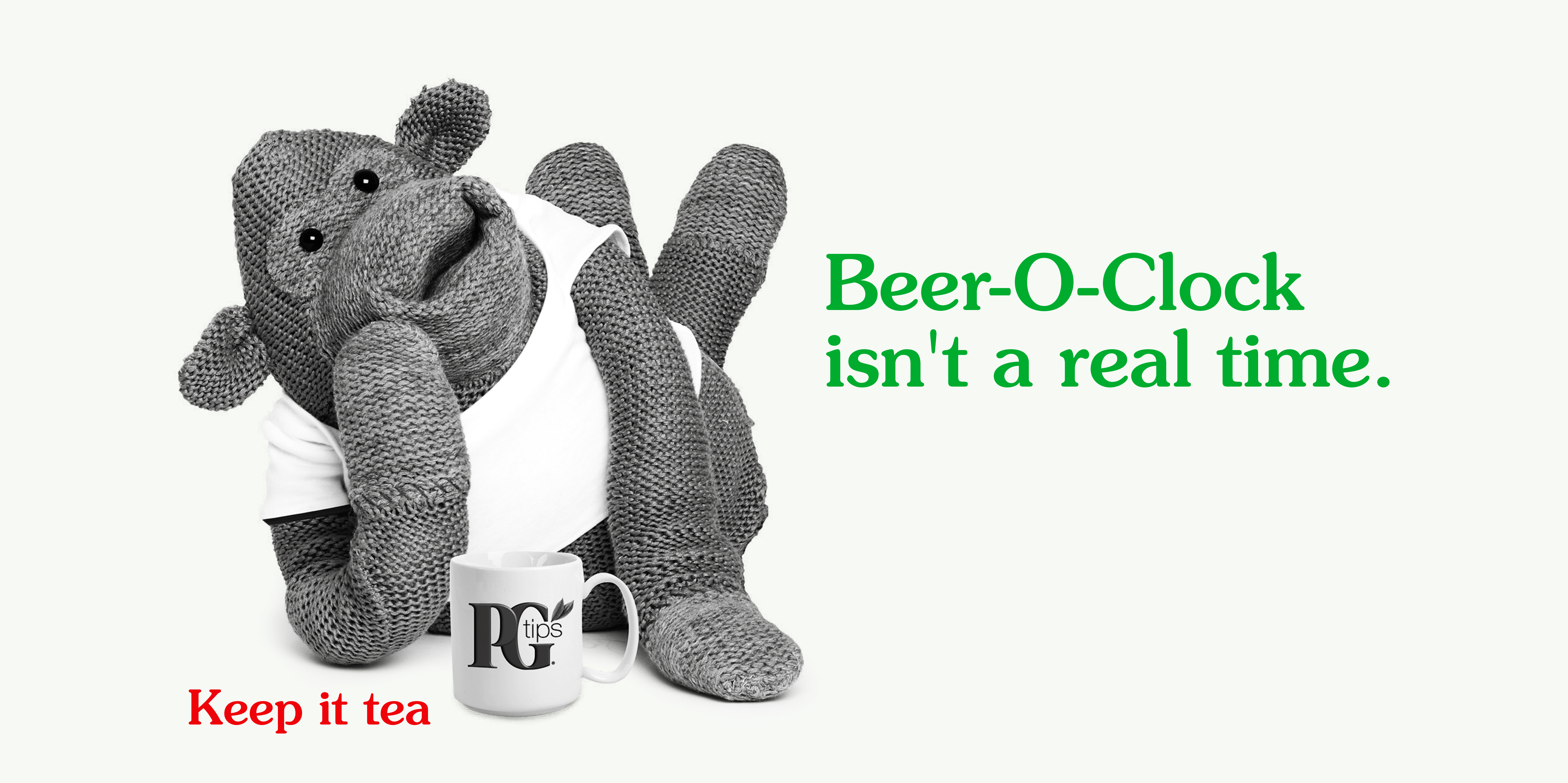 PG tips 'Beer 'O'' rough