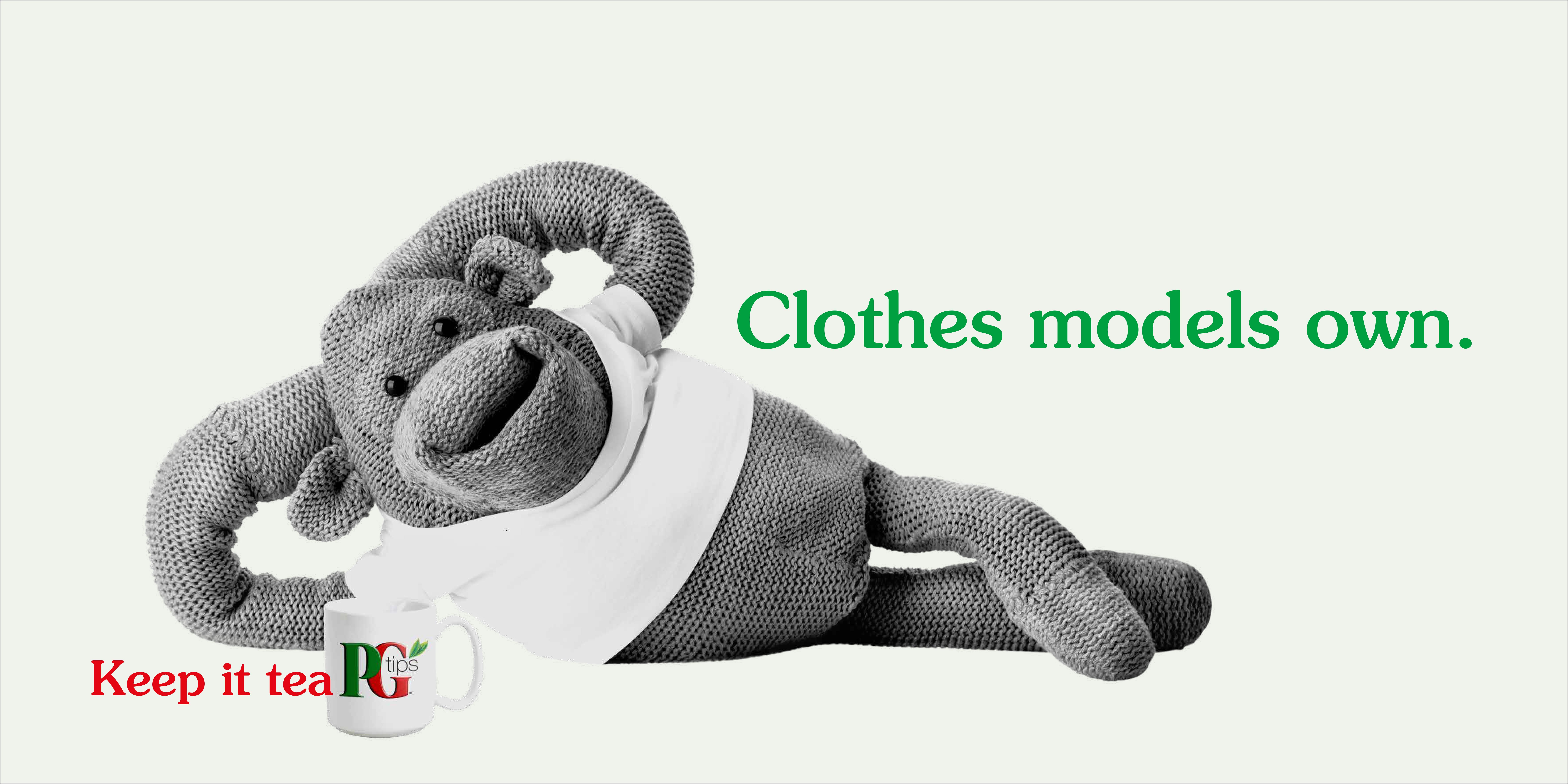 PG tips 'Clothes' rough
