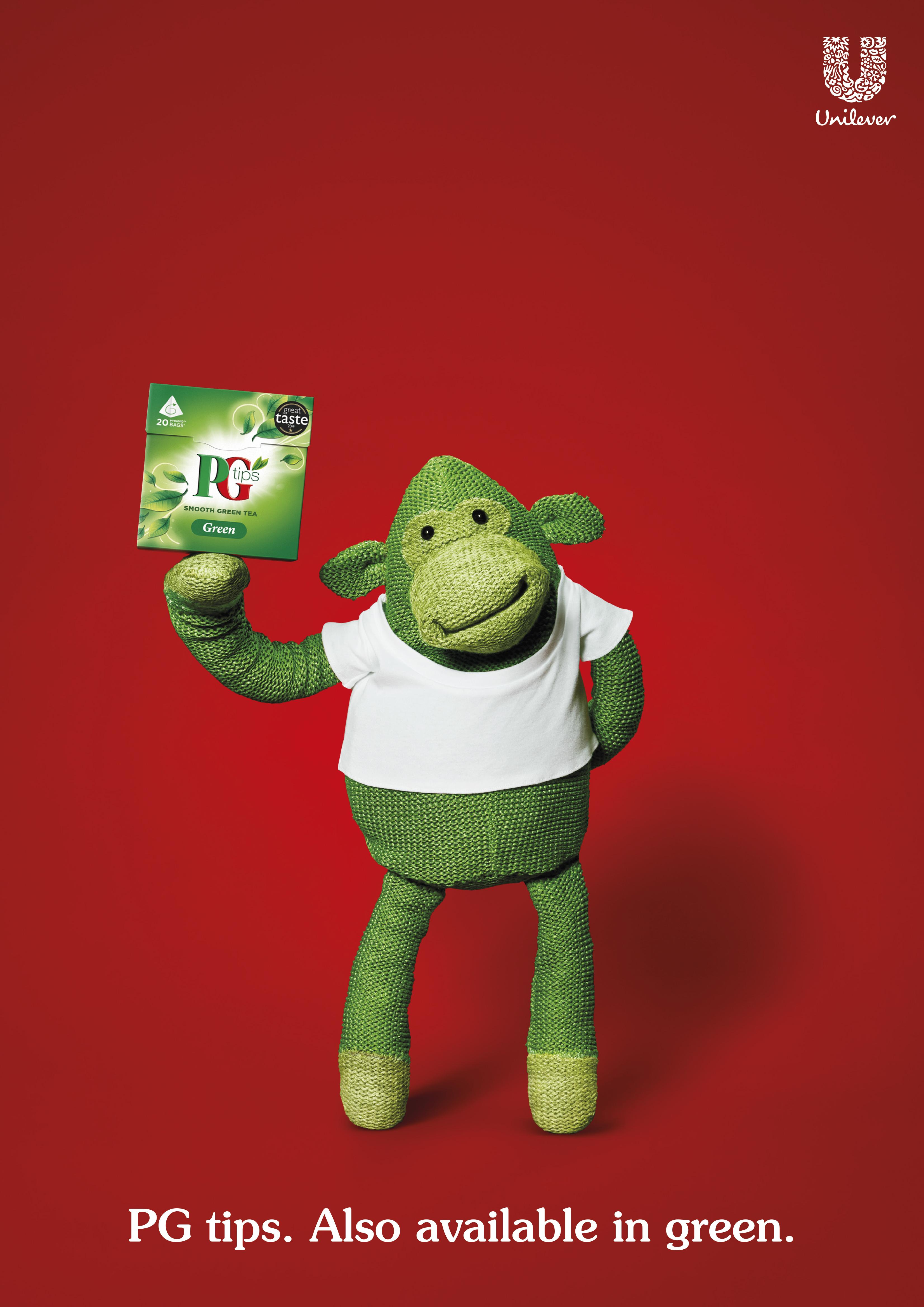PG tips Green Tea 'Green Monkey'