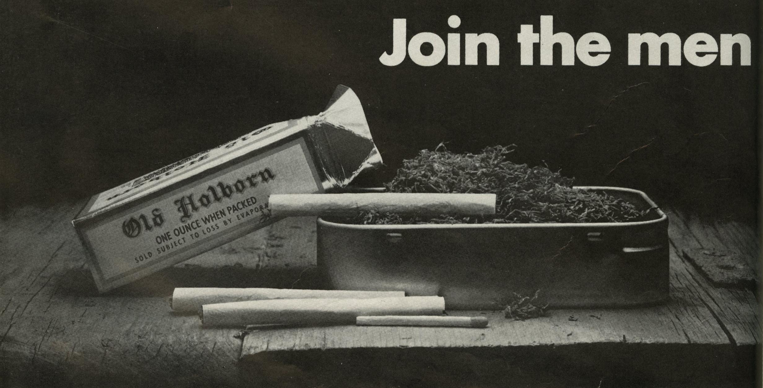 Old Holborn 'Men', David Holmes, KMP-01