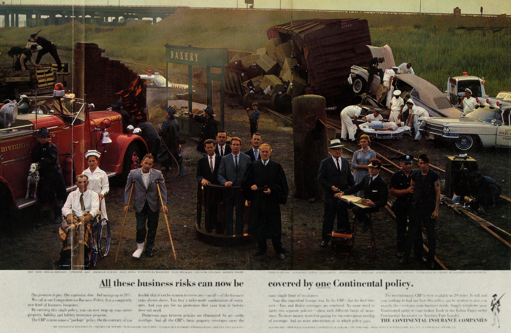 The Continental Insurance Co 'Crash', Sid Myers, DDB NY.