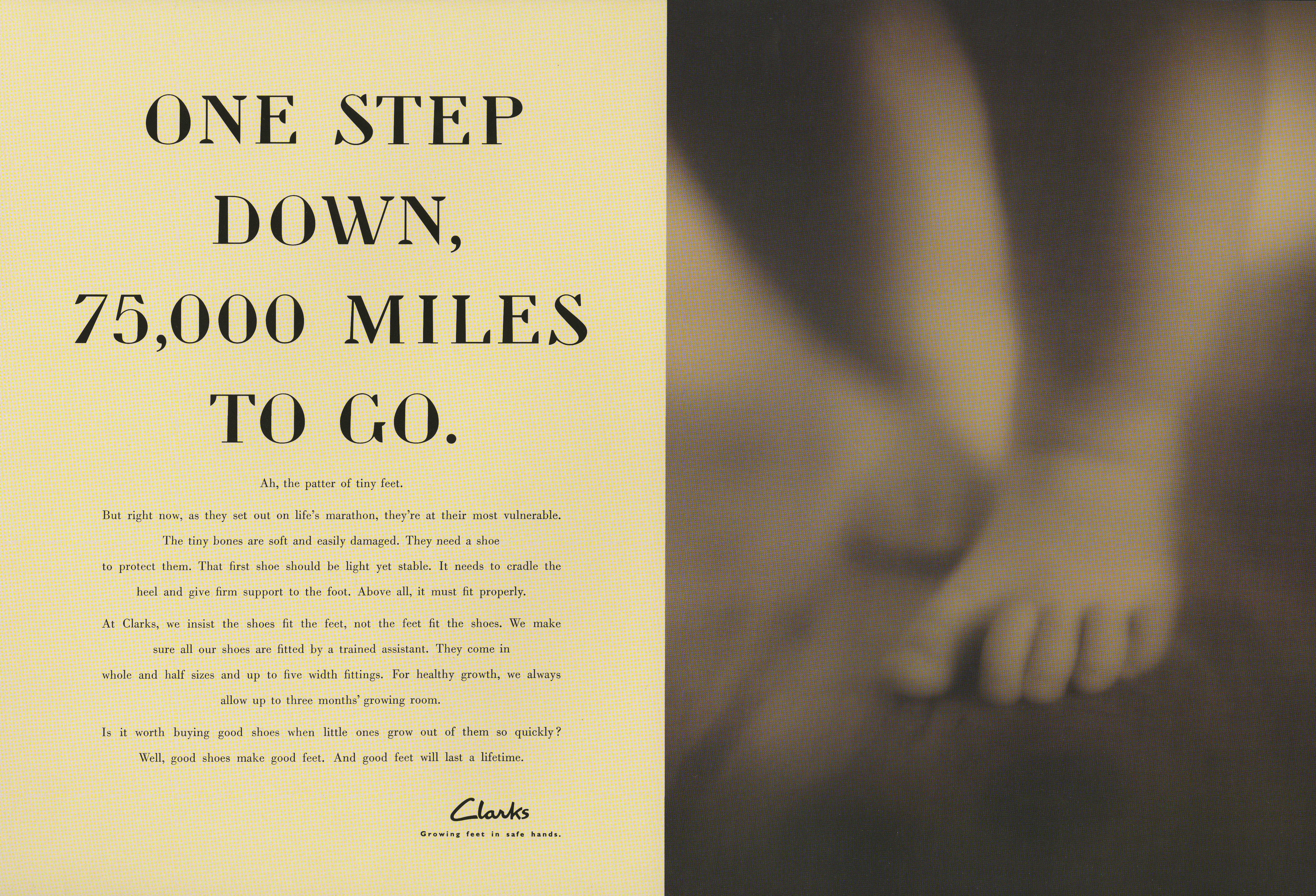 Clarks, 'One Step', Dave Wakefield:Pete Gatley: BMP:DDB
