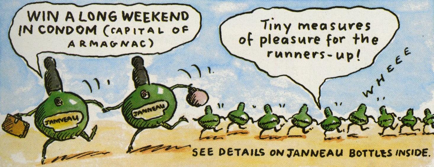 Janneau 'Long Weekend',David Holmes, HKR-01