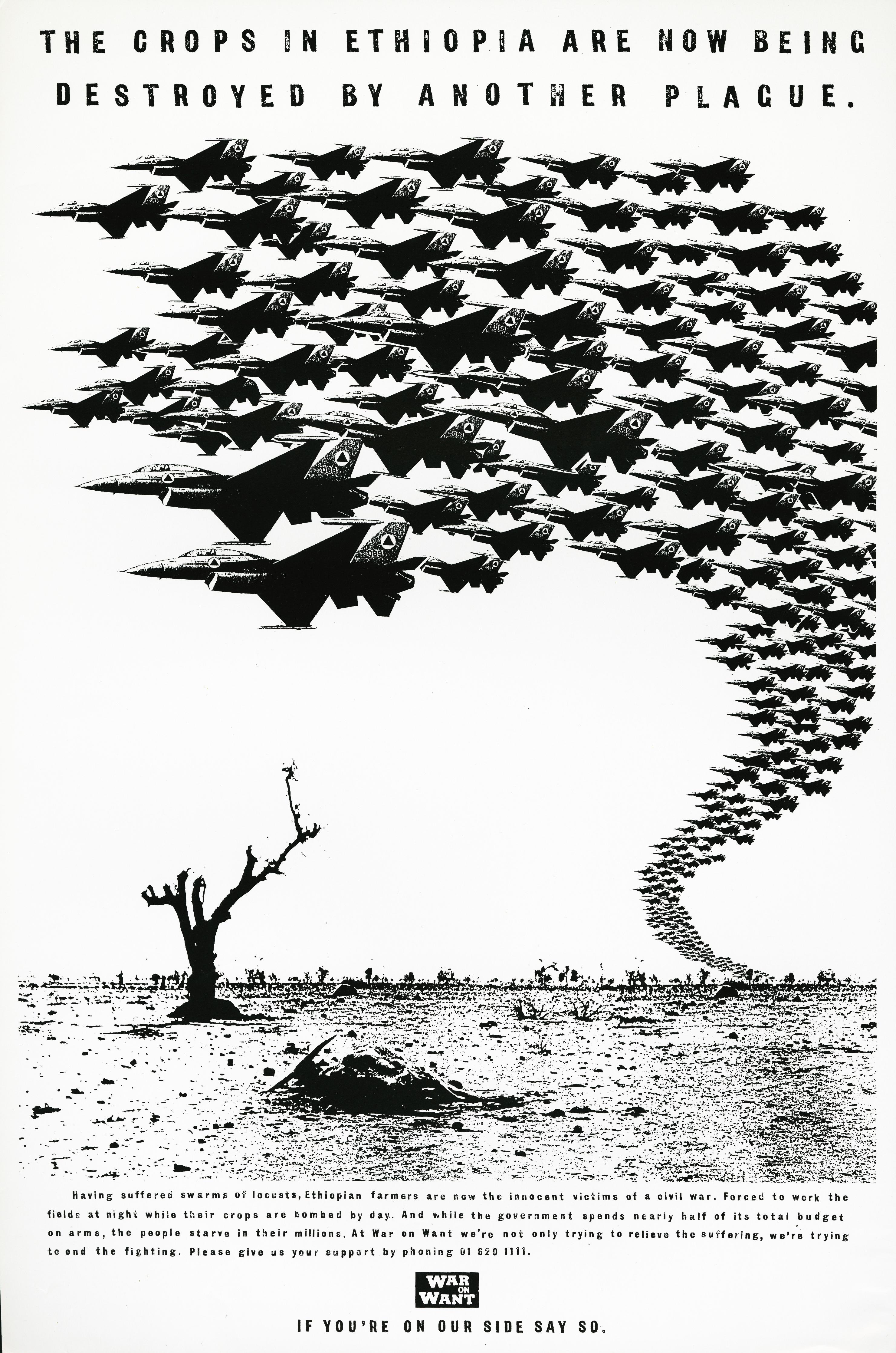War On Want - 'Swarm', Dave Wakefield, Tony Davidson, BMP:DDB
