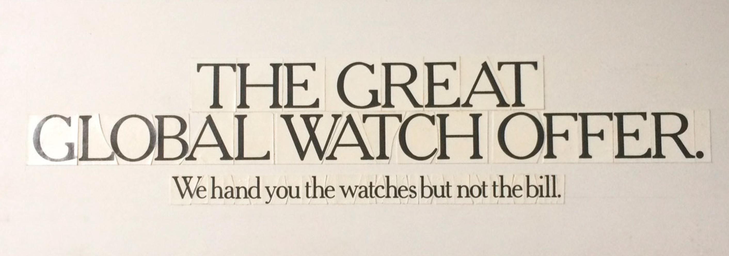 Global Watches, John O'Driscoll1