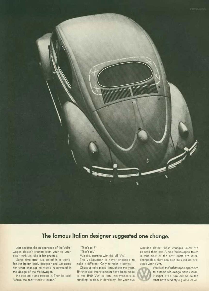 VW 'Italian Designer', DDB NY